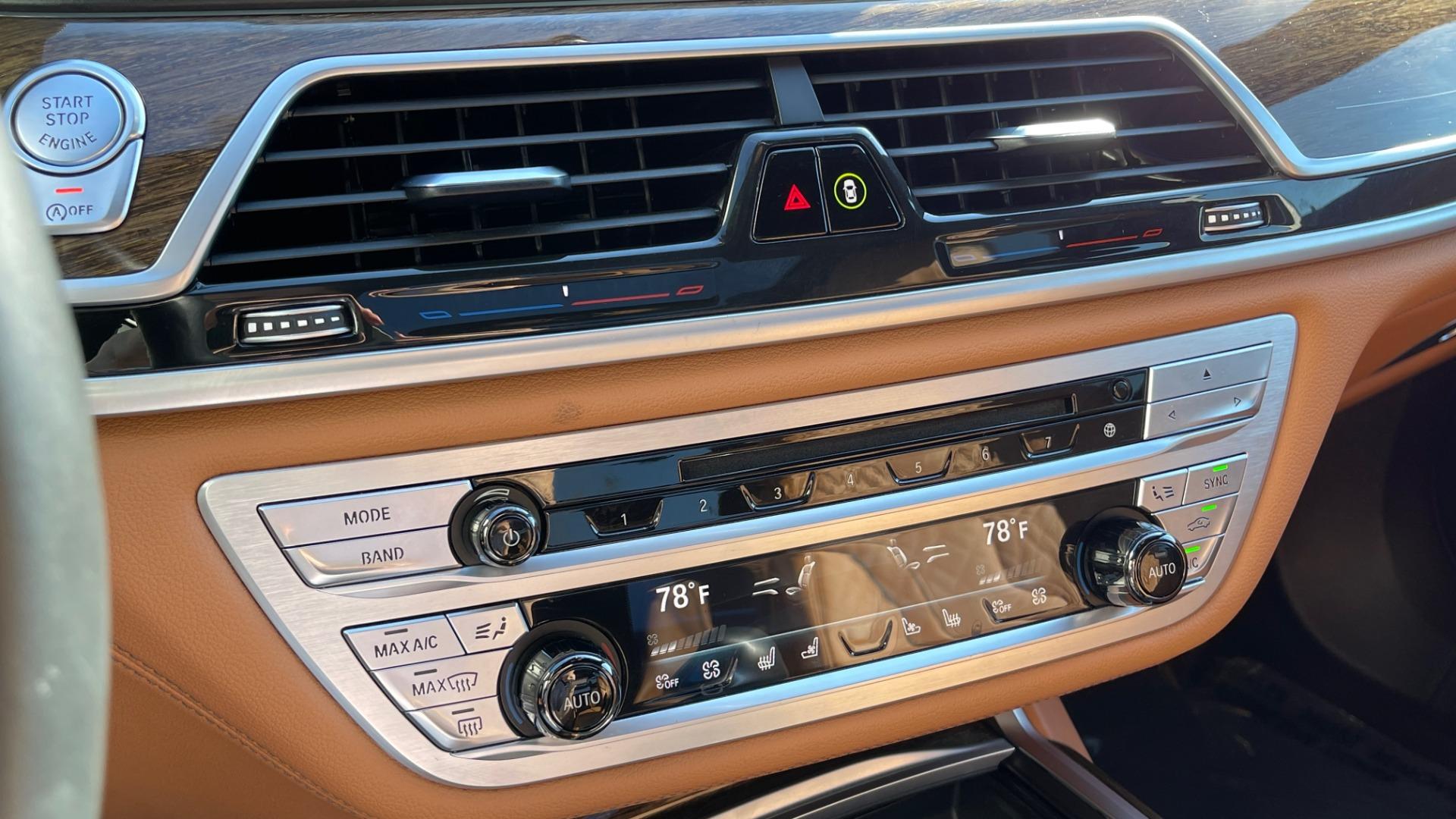 Used 2019 BMW 7 SERIES 750I XDRIVE M-SPORT / EXEC PKG / DRVR ASST PLUS / CLD WTHR / PAR for sale $60,995 at Formula Imports in Charlotte NC 28227 37