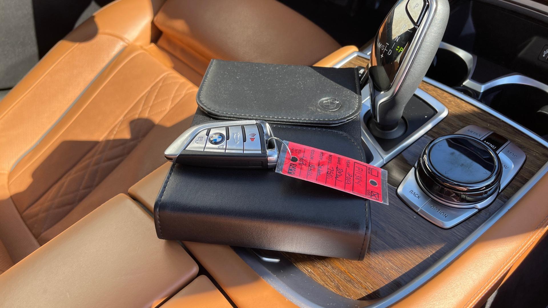Used 2019 BMW 7 SERIES 750I XDRIVE M-SPORT / EXEC PKG / DRVR ASST PLUS / CLD WTHR / PAR for sale $60,995 at Formula Imports in Charlotte NC 28227 66