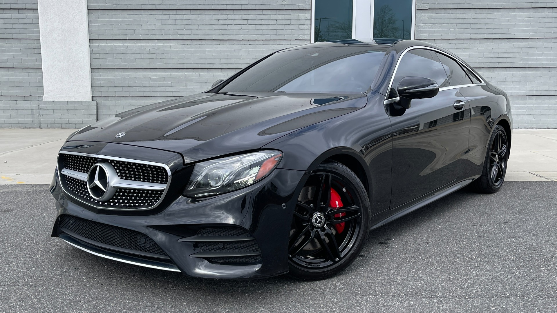 Used 2019 Mercedes-Benz E-CLASS E 450 PREMIUM / AMG LINE / PARK ASST / BSA / BURMESTER for sale $49,995 at Formula Imports in Charlotte NC 28227 1