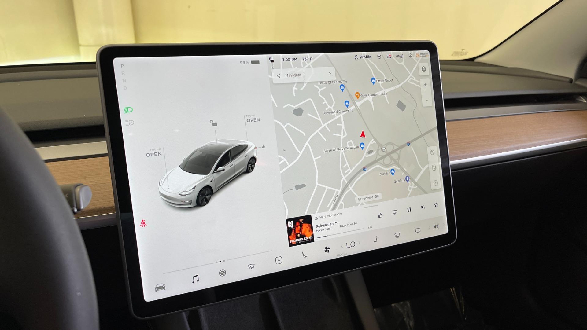 Used 2021 Tesla MODEL 3 STANDARD RANGE PLUS / NAV / REARVIEW for sale $49,595 at Formula Imports in Charlotte NC 28227 30