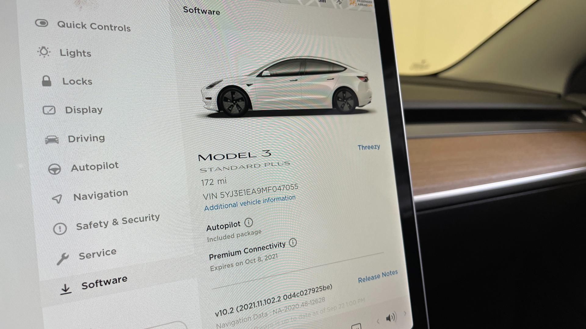 Used 2021 Tesla MODEL 3 STANDARD RANGE PLUS / NAV / REARVIEW for sale $49,595 at Formula Imports in Charlotte NC 28227 33