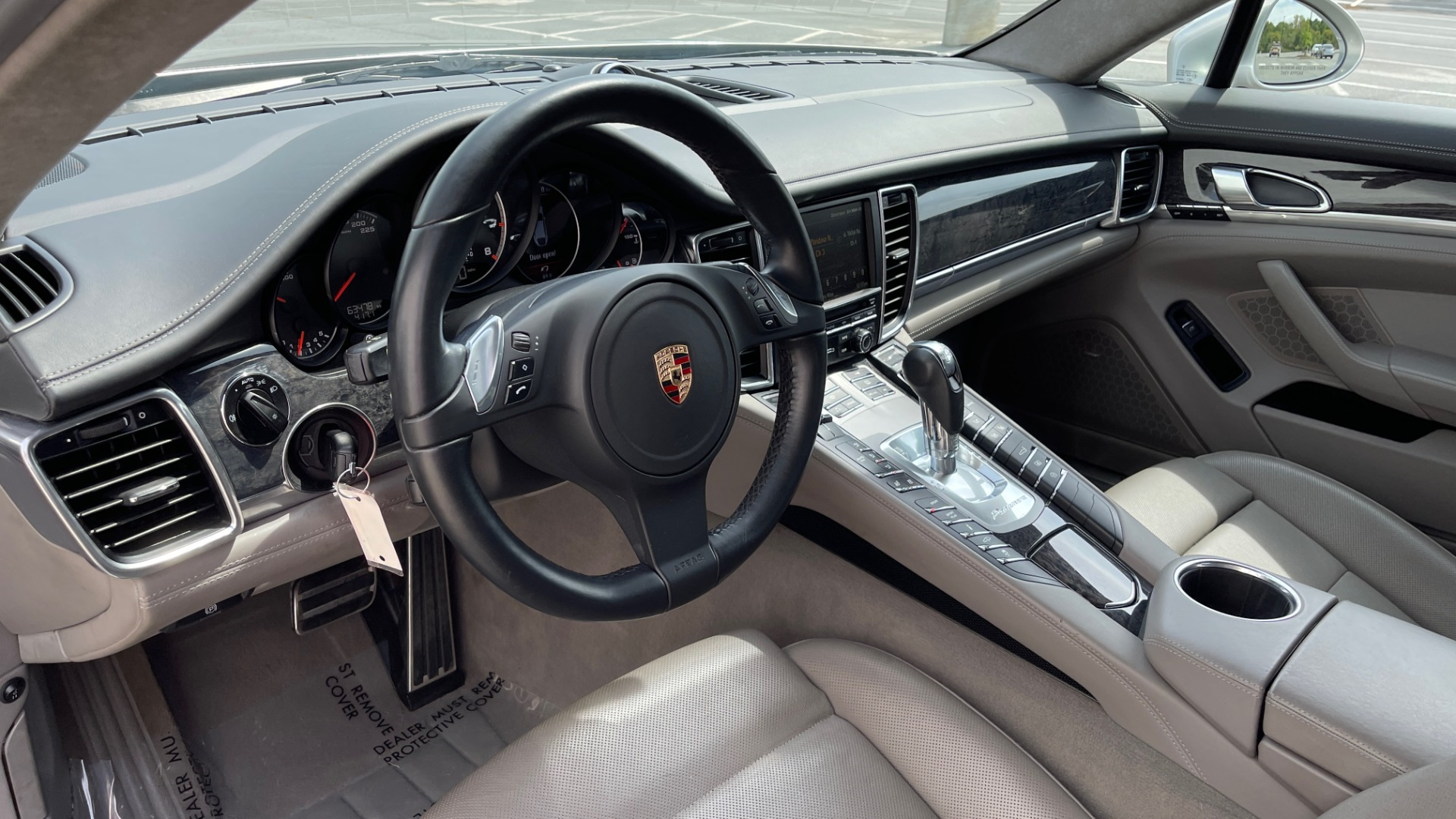 Used 2010 Porsche PANAMERA 4DR HB TURBO / SPORT CHRONO / BOSE / AUTO CLIMATE CONTROL for sale $42,124 at Formula Imports in Charlotte NC 28227 31