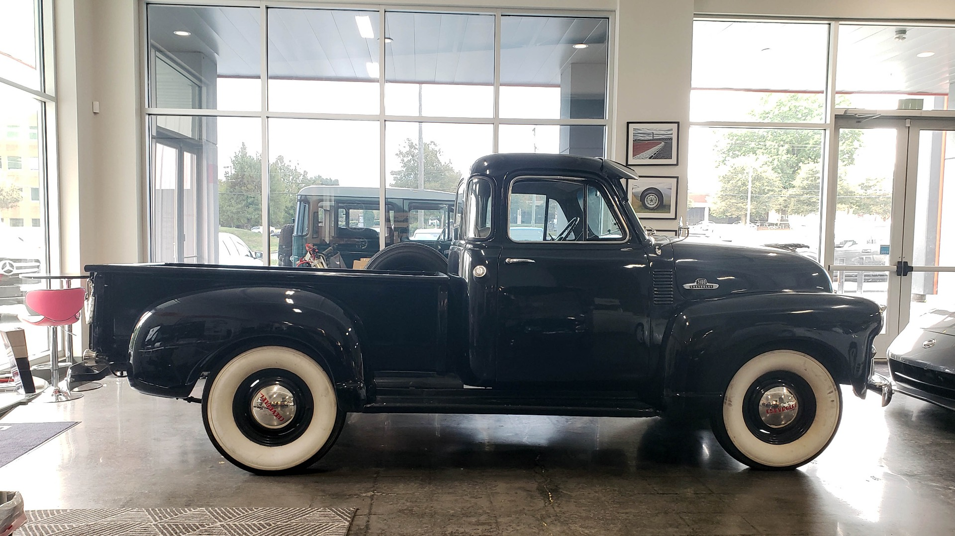 Used 1954 Chevrolet 3100 PICK-UP TRUCK / HALF-TON / IN-LINE-6 CYLINDER / 3-SPEED MANUAL / CLASSIC for sale $26,999 at Formula Imports in Charlotte NC 28227 2