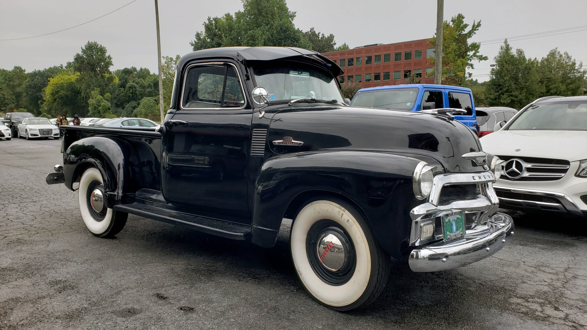Used 1954 Chevrolet 3100 PICK-UP TRUCK / HALF-TON / IN-LINE-6 CYLINDER / 3-SPEED MANUAL / CLASSIC for sale $26,999 at Formula Imports in Charlotte NC 28227 42
