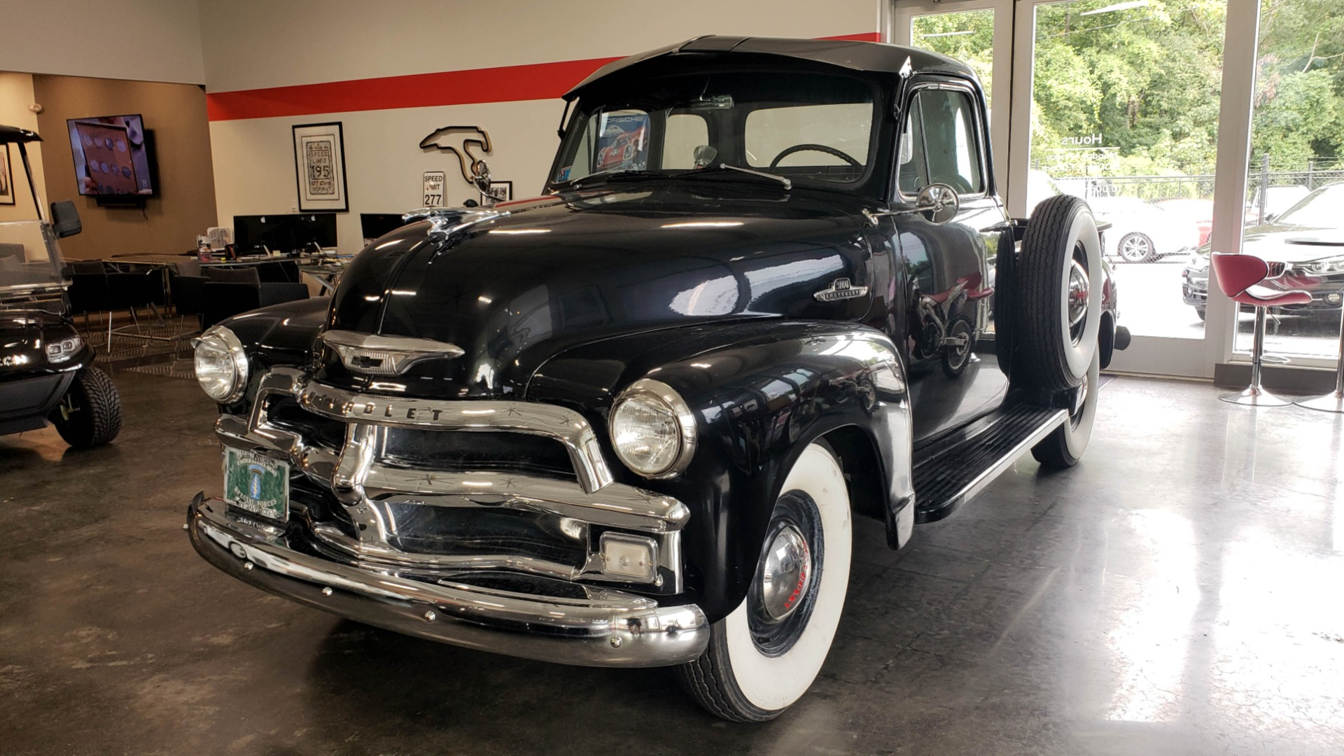 Used 1954 Chevrolet 3100 PICK-UP TRUCK / HALF-TON / IN-LINE-6 CYLINDER / 3-SPEED MANUAL / CLASSIC for sale $26,999 at Formula Imports in Charlotte NC 28227 1