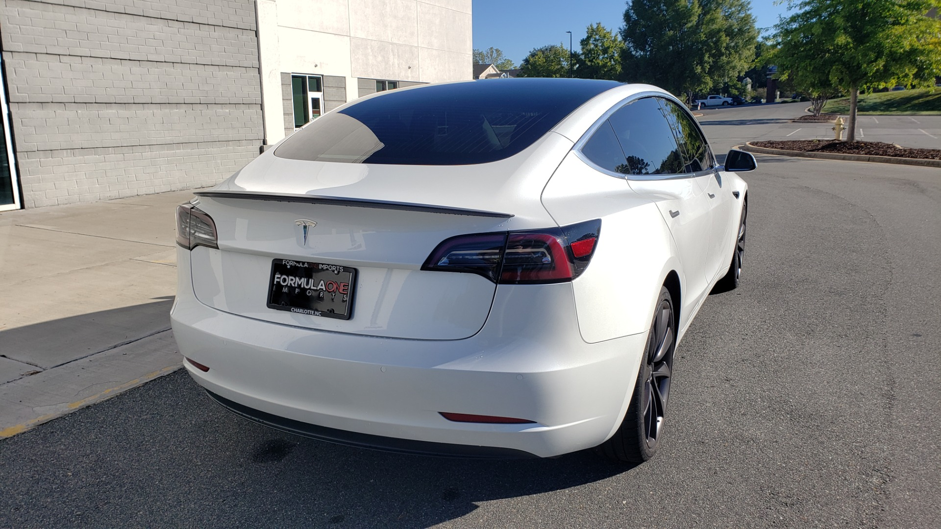 Used 2020 Tesla MODEL 3 PERFORMANCE / AWD / NAV / DUAL-SUNROOF / RERVIEW for sale Sold at Formula Imports in Charlotte NC 28227 2