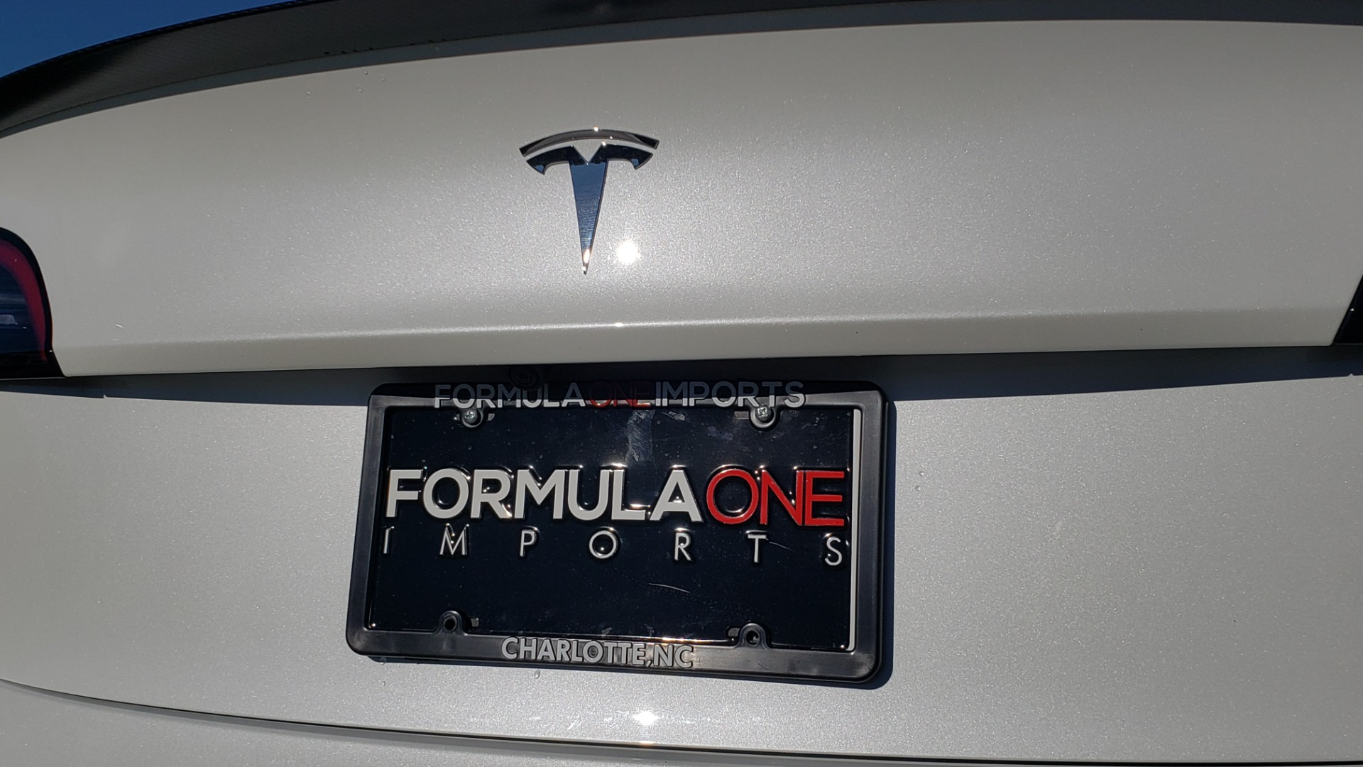 Used 2020 Tesla MODEL 3 PERFORMANCE / AWD / NAV / DUAL-SUNROOF / RERVIEW for sale Sold at Formula Imports in Charlotte NC 28227 34