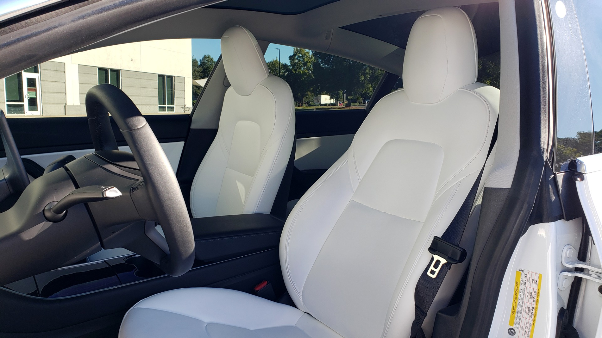 Used 2020 Tesla MODEL 3 PERFORMANCE / AWD / NAV / DUAL-SUNROOF / RERVIEW for sale Sold at Formula Imports in Charlotte NC 28227 37