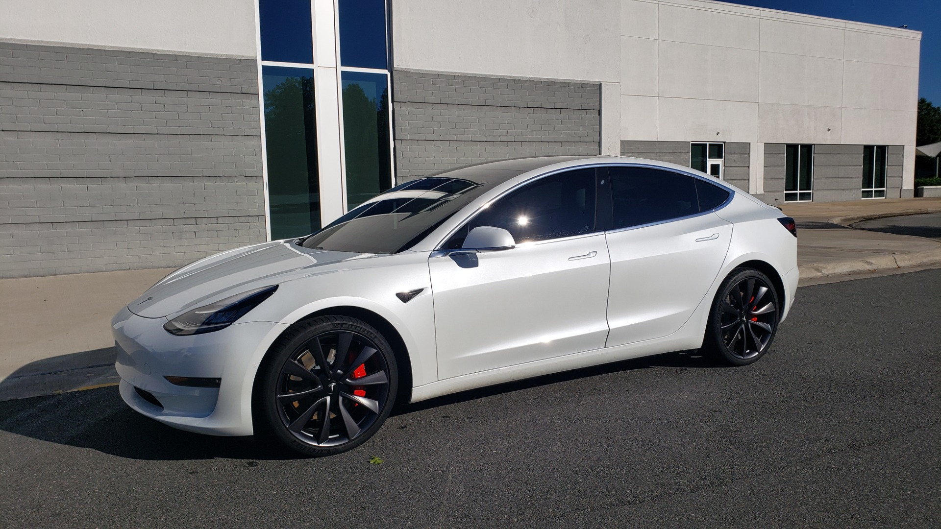 Used 2020 Tesla MODEL 3 PERFORMANCE / AWD / NAV / DUAL-SUNROOF / RERVIEW for sale Sold at Formula Imports in Charlotte NC 28227 4
