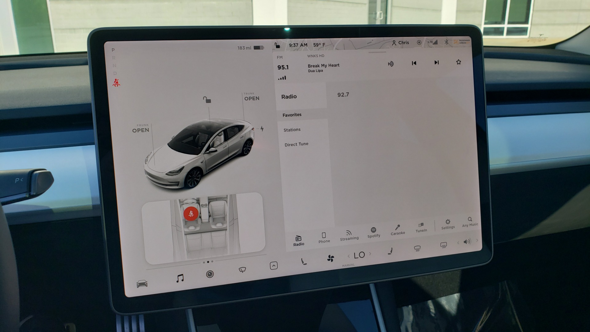 Used 2020 Tesla MODEL 3 PERFORMANCE / AWD / NAV / DUAL-SUNROOF / RERVIEW for sale Sold at Formula Imports in Charlotte NC 28227 40