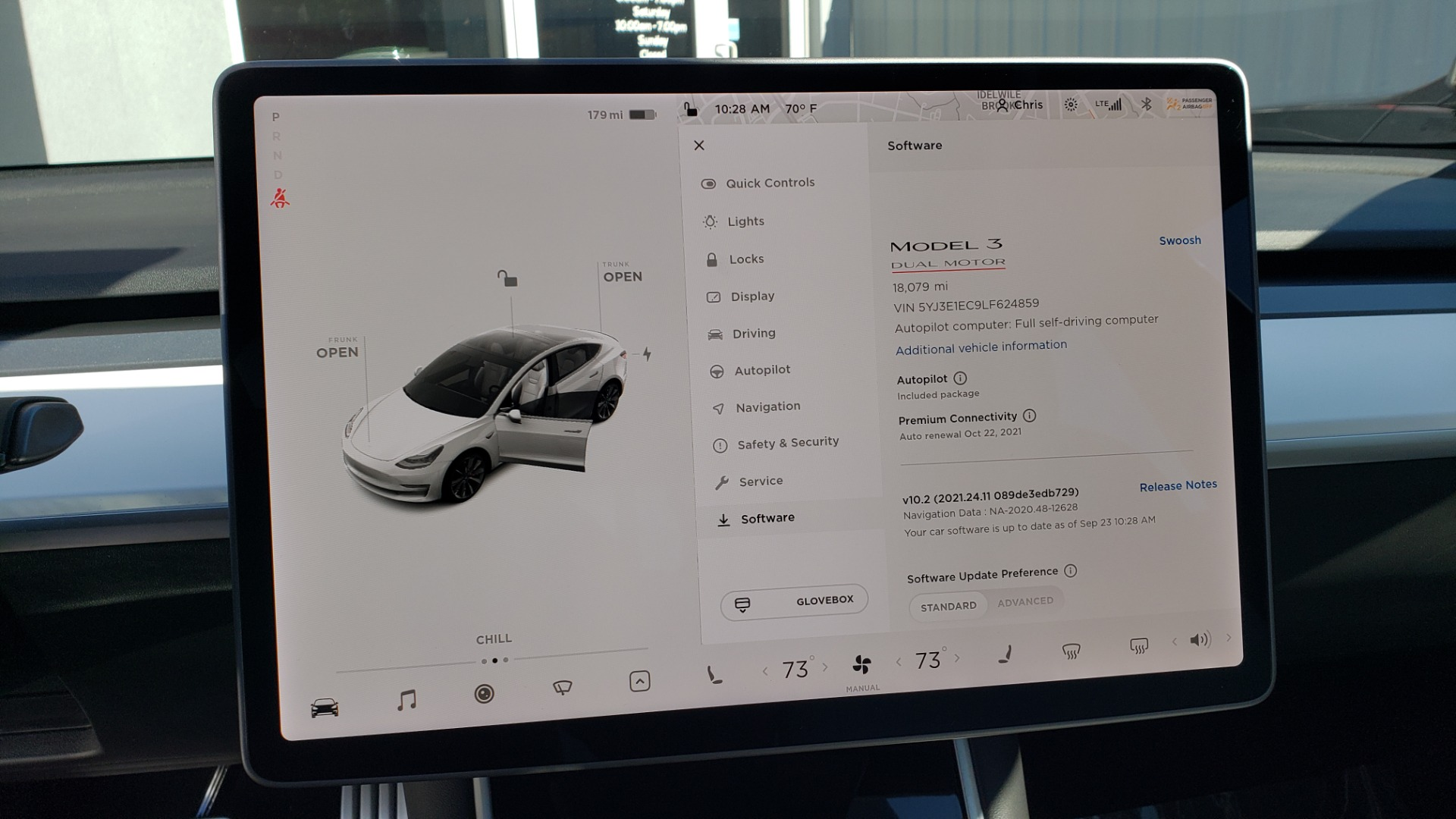 Used 2020 Tesla MODEL 3 PERFORMANCE / AWD / NAV / DUAL-SUNROOF / RERVIEW for sale Sold at Formula Imports in Charlotte NC 28227 45