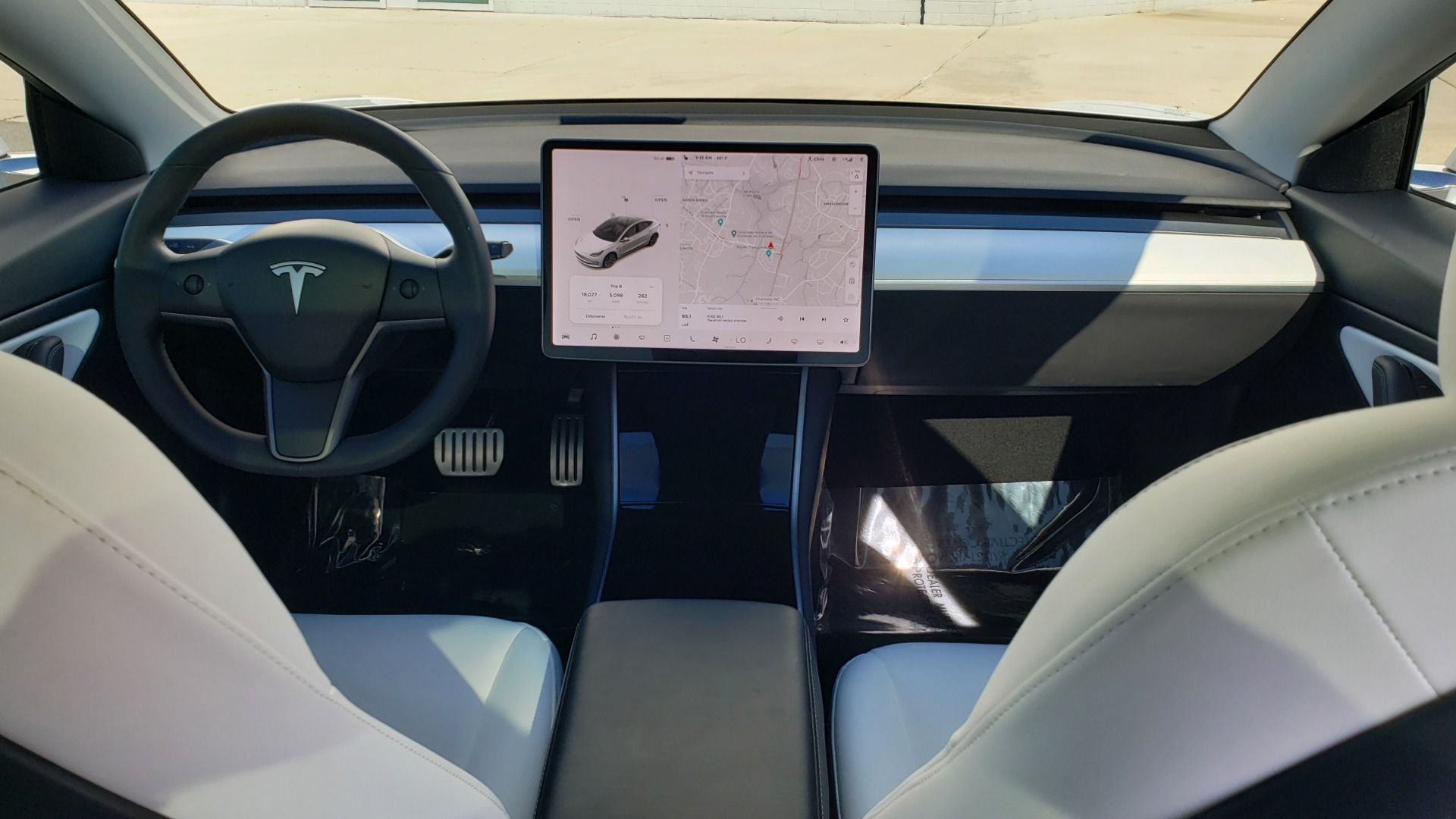 Used 2020 Tesla MODEL 3 PERFORMANCE / AWD / NAV / DUAL-SUNROOF / RERVIEW for sale Sold at Formula Imports in Charlotte NC 28227 67