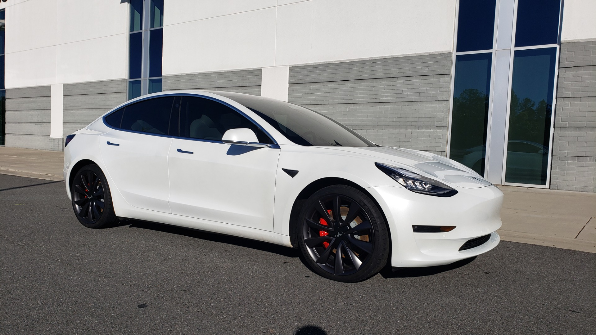 Used 2020 Tesla MODEL 3 PERFORMANCE / AWD / NAV / DUAL-SUNROOF / RERVIEW for sale Sold at Formula Imports in Charlotte NC 28227 9