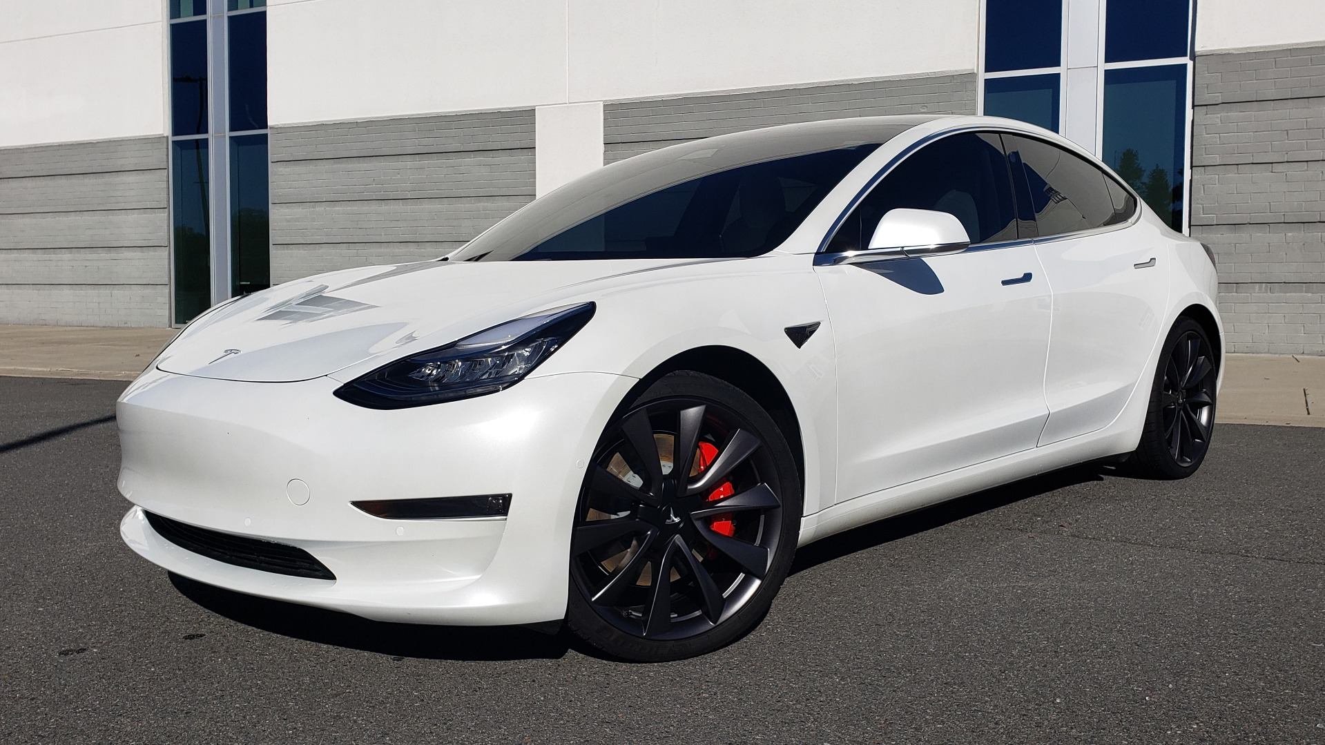 Used 2020 Tesla MODEL 3 PERFORMANCE / AWD / NAV / DUAL-SUNROOF / RERVIEW for sale Sold at Formula Imports in Charlotte NC 28227 1