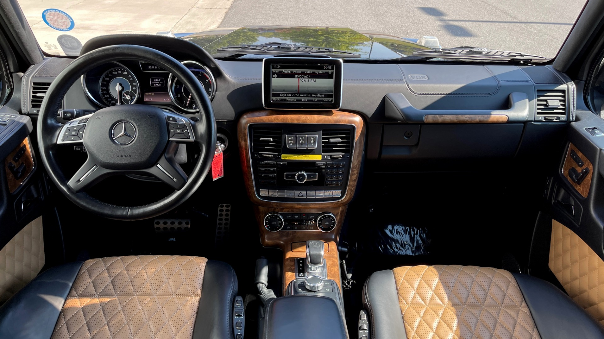 Used 2014 Mercedes-Benz G-CLASS G 63 AMG / DISGNO LEATHER / NAV / SUNROOF / REARVIEW for sale $88,999 at Formula Imports in Charlotte NC 28227 52