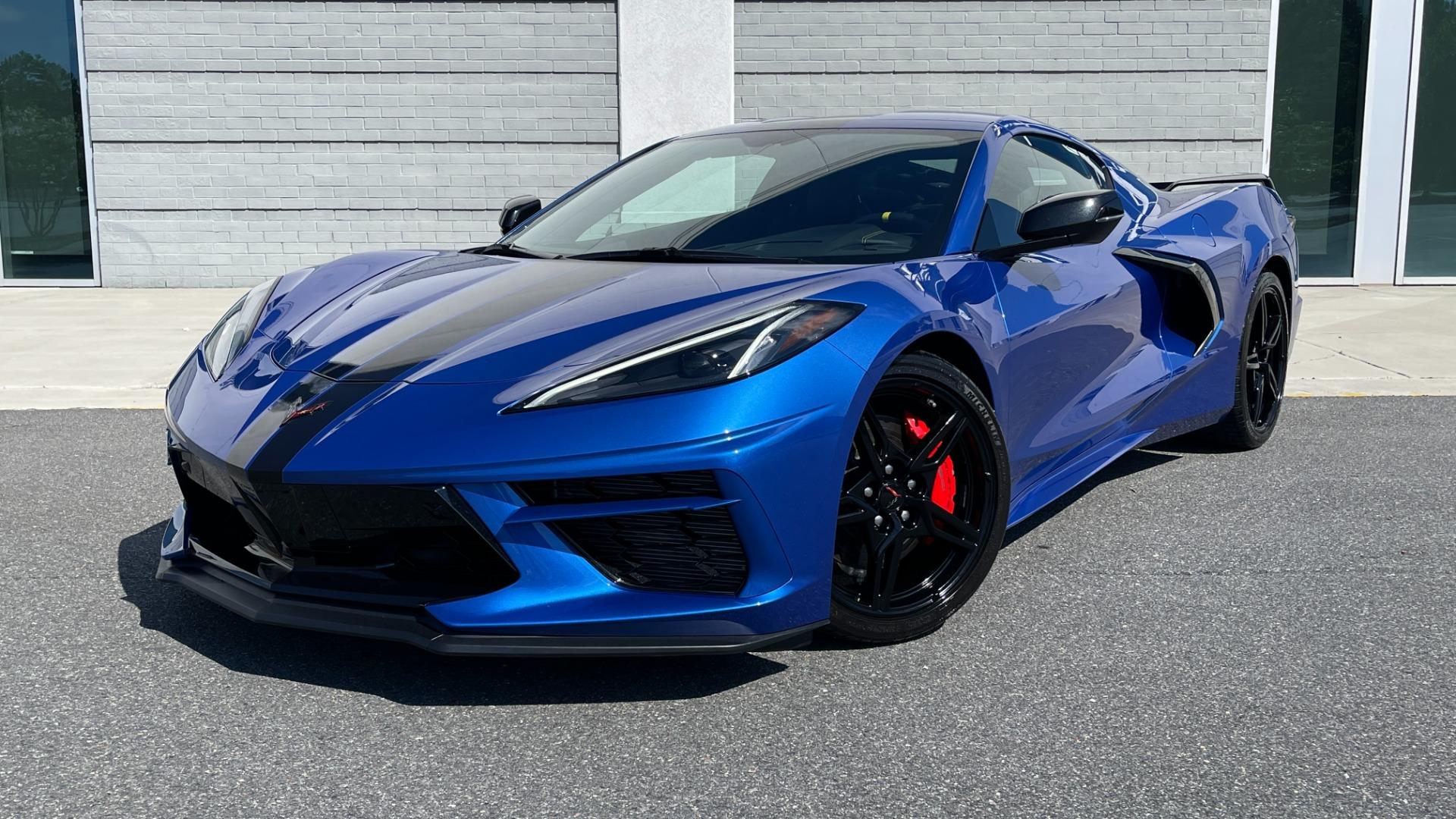 Used 2021 Chevrolet CORVETTE STINGRAY 3LT COUPE / 8-SPD / PERF PKG / NAV / BOSE / REARVIEW for sale $110,995 at Formula Imports in Charlotte NC 28227 11