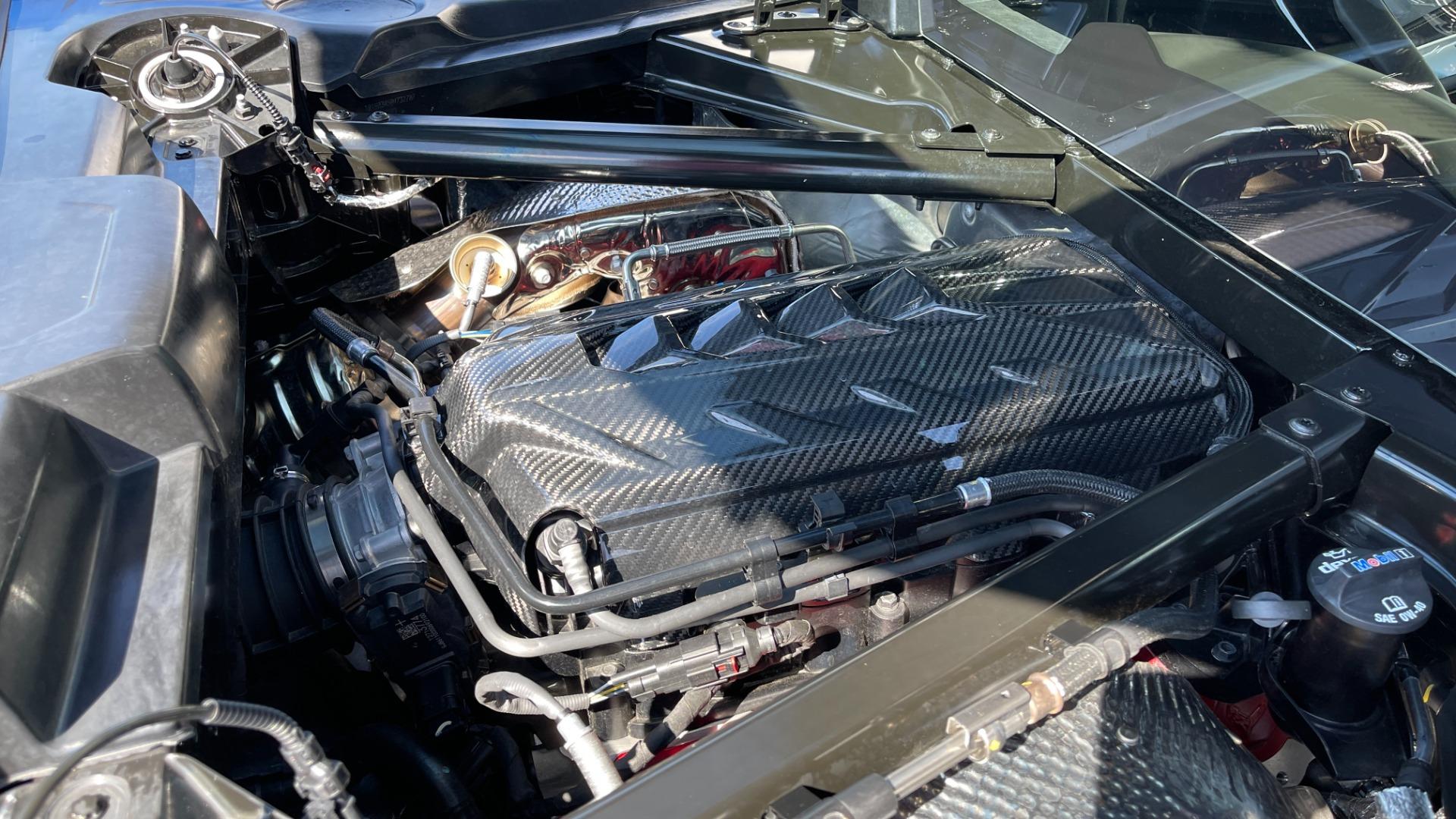 Used 2021 Chevrolet CORVETTE STINGRAY 3LT COUPE / 8-SPD / PERF PKG / NAV / BOSE / REARVIEW for sale $110,995 at Formula Imports in Charlotte NC 28227 23