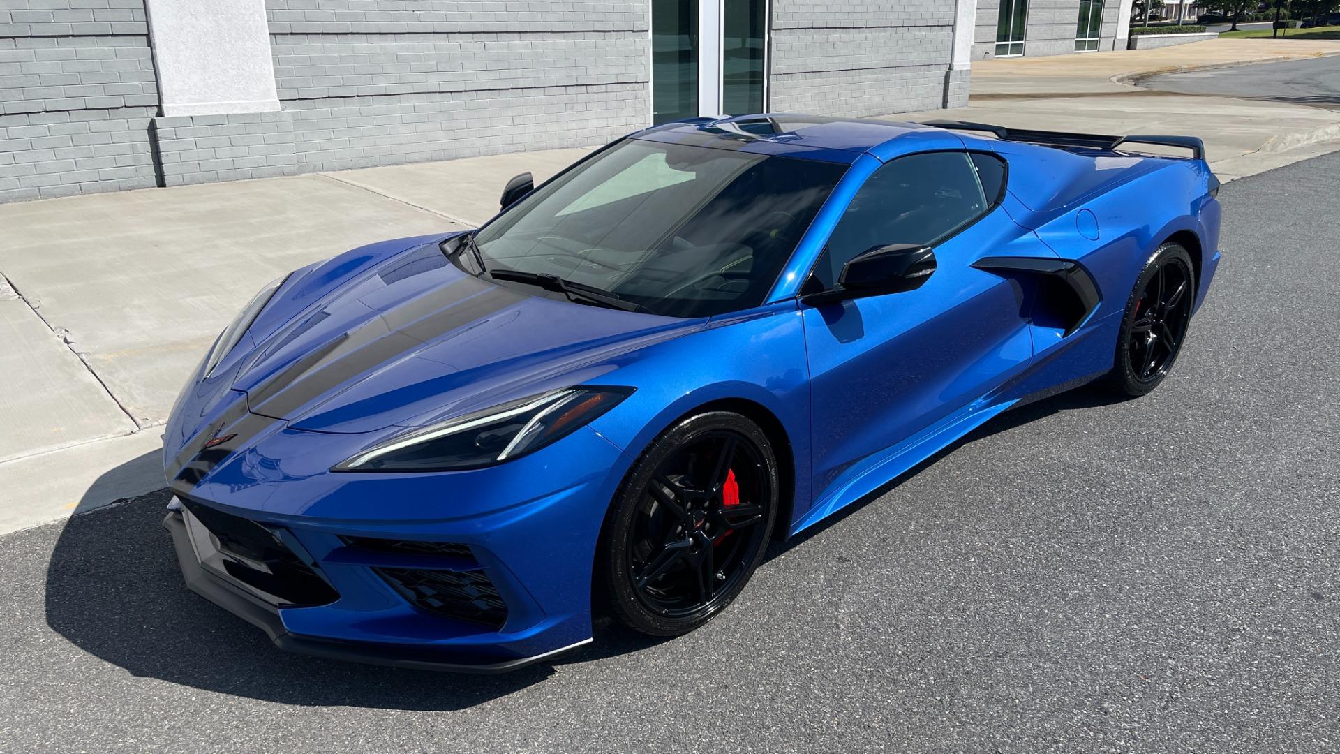 Used 2021 Chevrolet CORVETTE STINGRAY 3LT COUPE / 8-SPD / PERF PKG / NAV / BOSE / REARVIEW for sale $110,995 at Formula Imports in Charlotte NC 28227 3