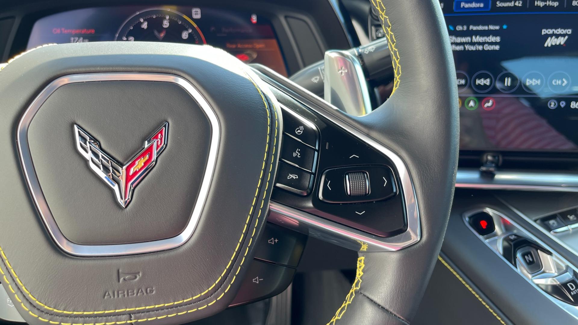 Used 2021 Chevrolet CORVETTE STINGRAY 3LT COUPE / 8-SPD / PERF PKG / NAV / BOSE / REARVIEW for sale $110,995 at Formula Imports in Charlotte NC 28227 32