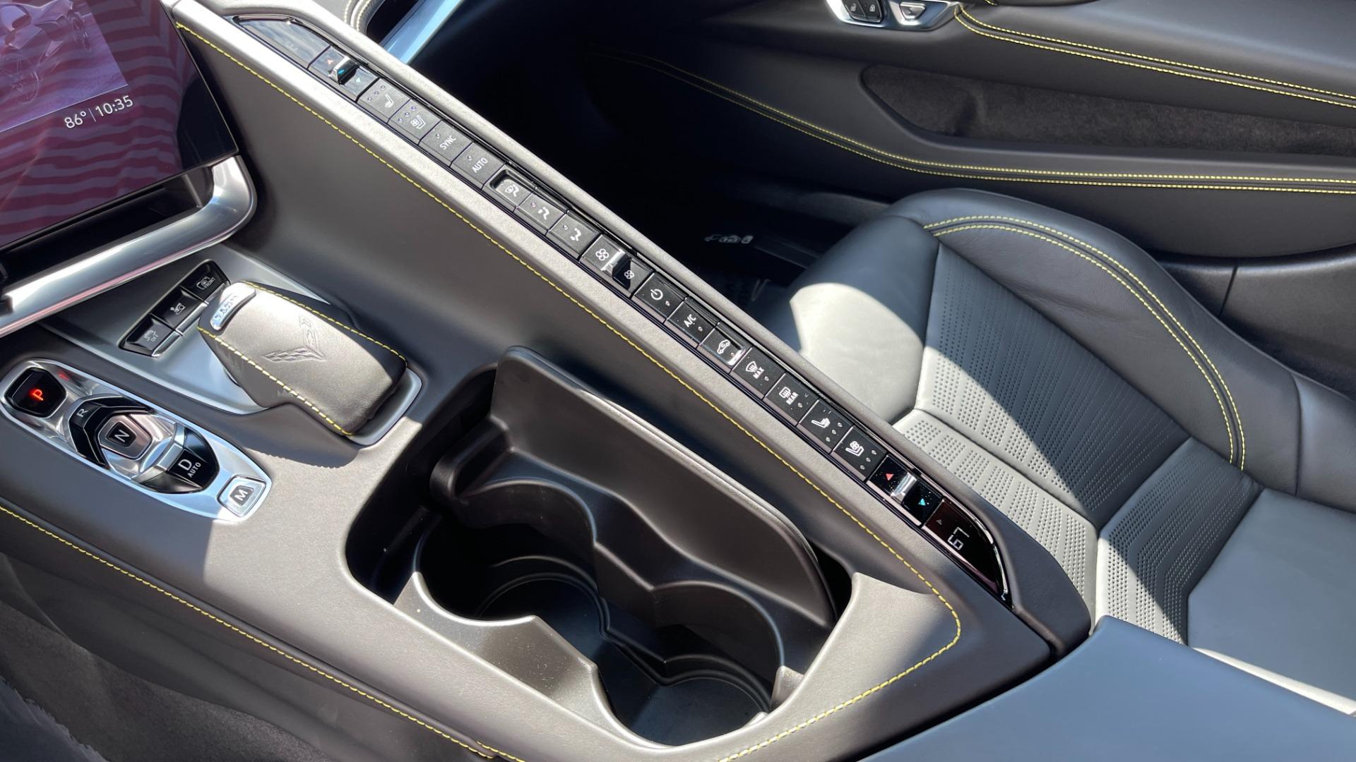 Used 2021 Chevrolet CORVETTE STINGRAY 3LT COUPE / 8-SPD / PERF PKG / NAV / BOSE / REARVIEW for sale $110,995 at Formula Imports in Charlotte NC 28227 37