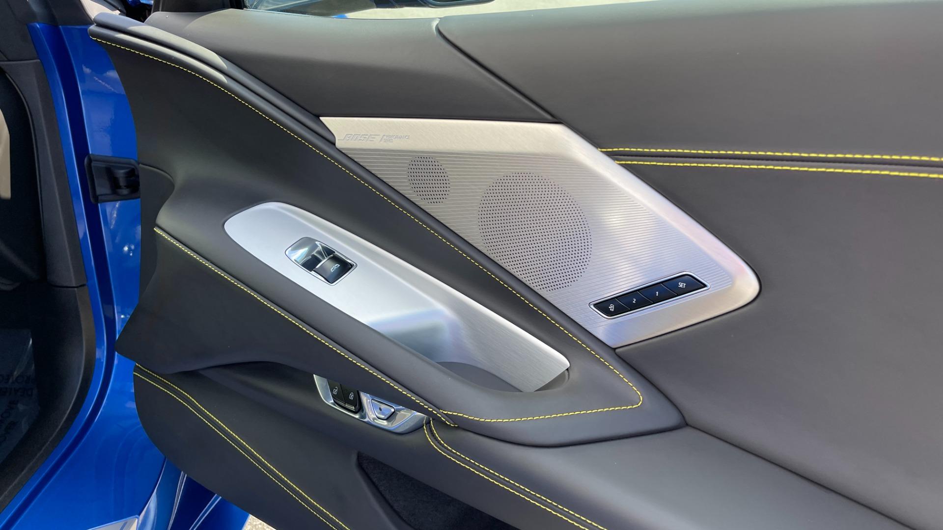 Used 2021 Chevrolet CORVETTE STINGRAY 3LT COUPE / 8-SPD / PERF PKG / NAV / BOSE / REARVIEW for sale $110,995 at Formula Imports in Charlotte NC 28227 41