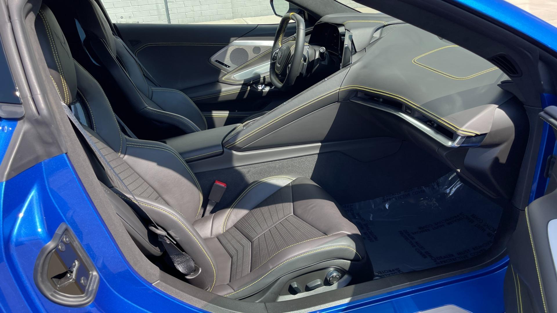 Used 2021 Chevrolet CORVETTE STINGRAY 3LT COUPE / 8-SPD / PERF PKG / NAV / BOSE / REARVIEW for sale $110,995 at Formula Imports in Charlotte NC 28227 43