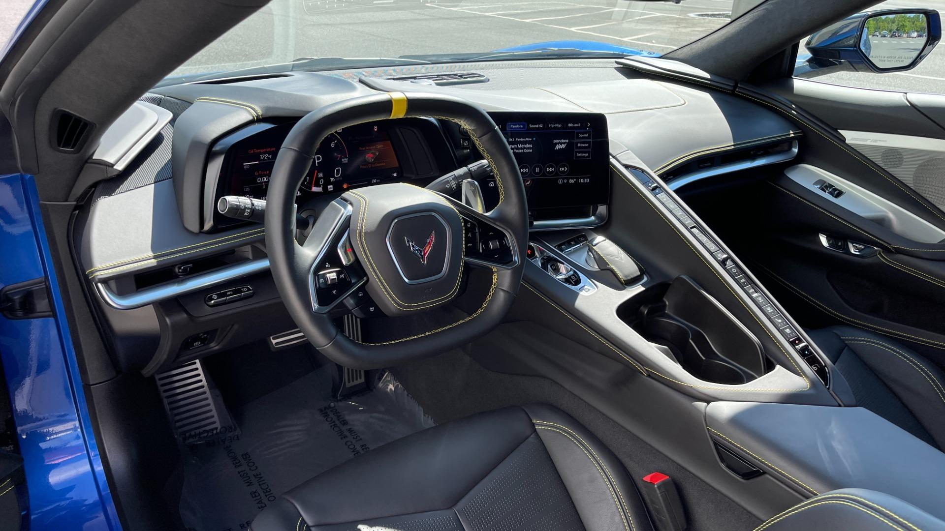 Used 2021 Chevrolet CORVETTE STINGRAY 3LT COUPE / 8-SPD / PERF PKG / NAV / BOSE / REARVIEW for sale $110,995 at Formula Imports in Charlotte NC 28227 6