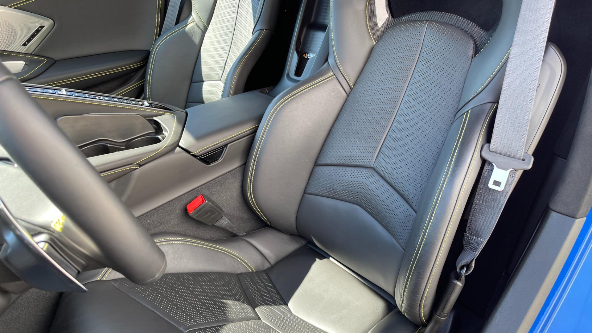 Used 2021 Chevrolet CORVETTE STINGRAY 3LT COUPE / 8-SPD / PERF PKG / NAV / BOSE / REARVIEW for sale $110,995 at Formula Imports in Charlotte NC 28227 9