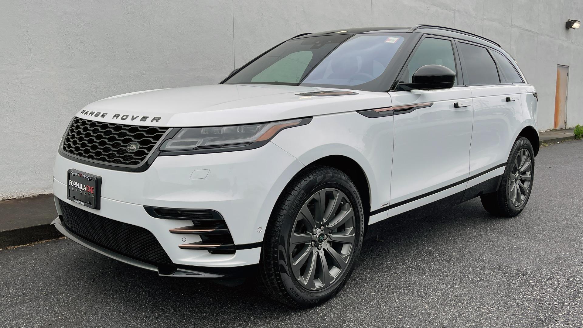 Used 2018 Land Rover RANGE ROVER VELAR R-DYNAMIC SE / NAV / PREM / MERIDIAN / SUNROOF / REARVIEW for sale $54,995 at Formula Imports in Charlotte NC 28227 1