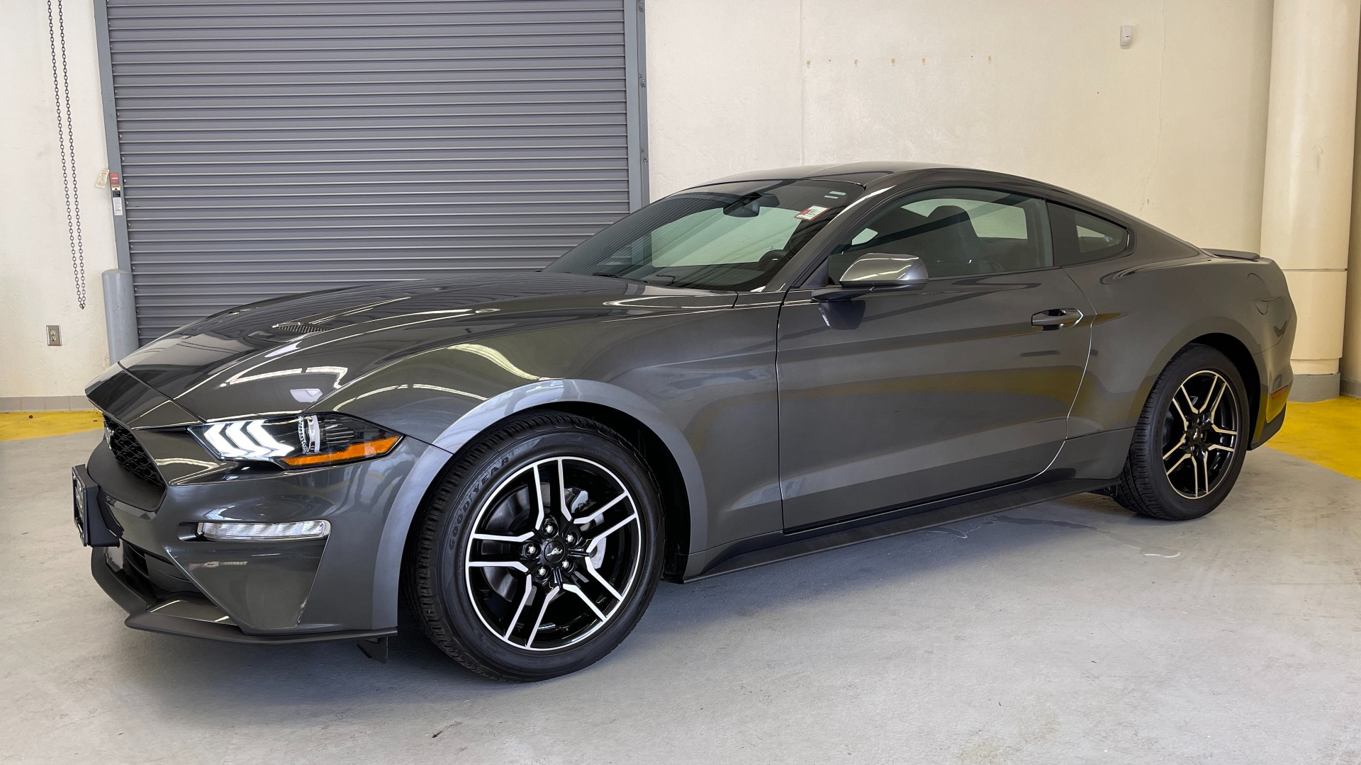 Used 2019 Ford MUSTANG ECOBOOST 2.3L / 10-SPD AUTO / SYNC3 8INCH SCREEN / TRACK APPS / REARVIEW for sale $31,795 at Formula Imports in Charlotte NC 28227 3
