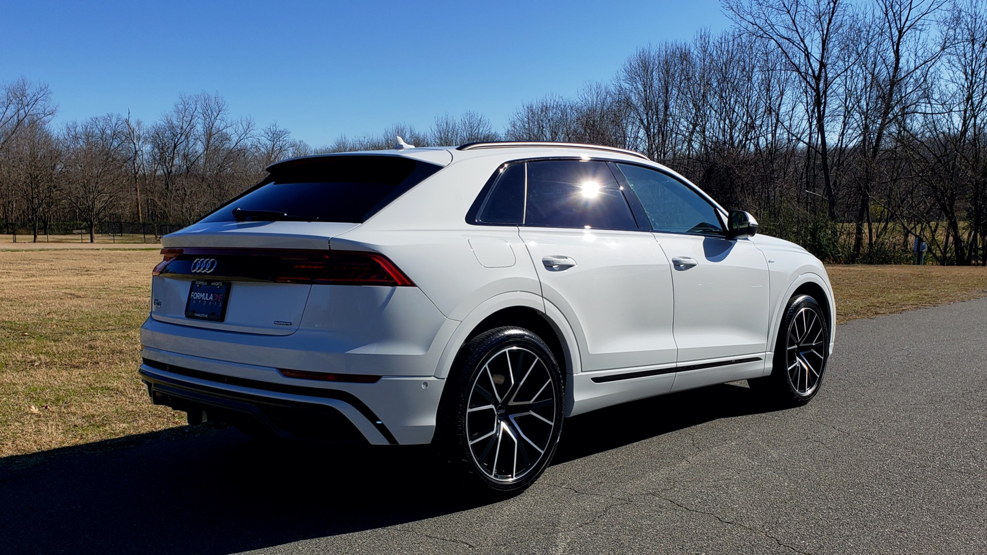 Used 2019 Audi Q8 PRESTIGE S-LINE / LUX PKG / ADAPT CHASSIS / YEAR ONE / CLD WTHR for sale Sold at Formula Imports in Charlotte NC 28227 11