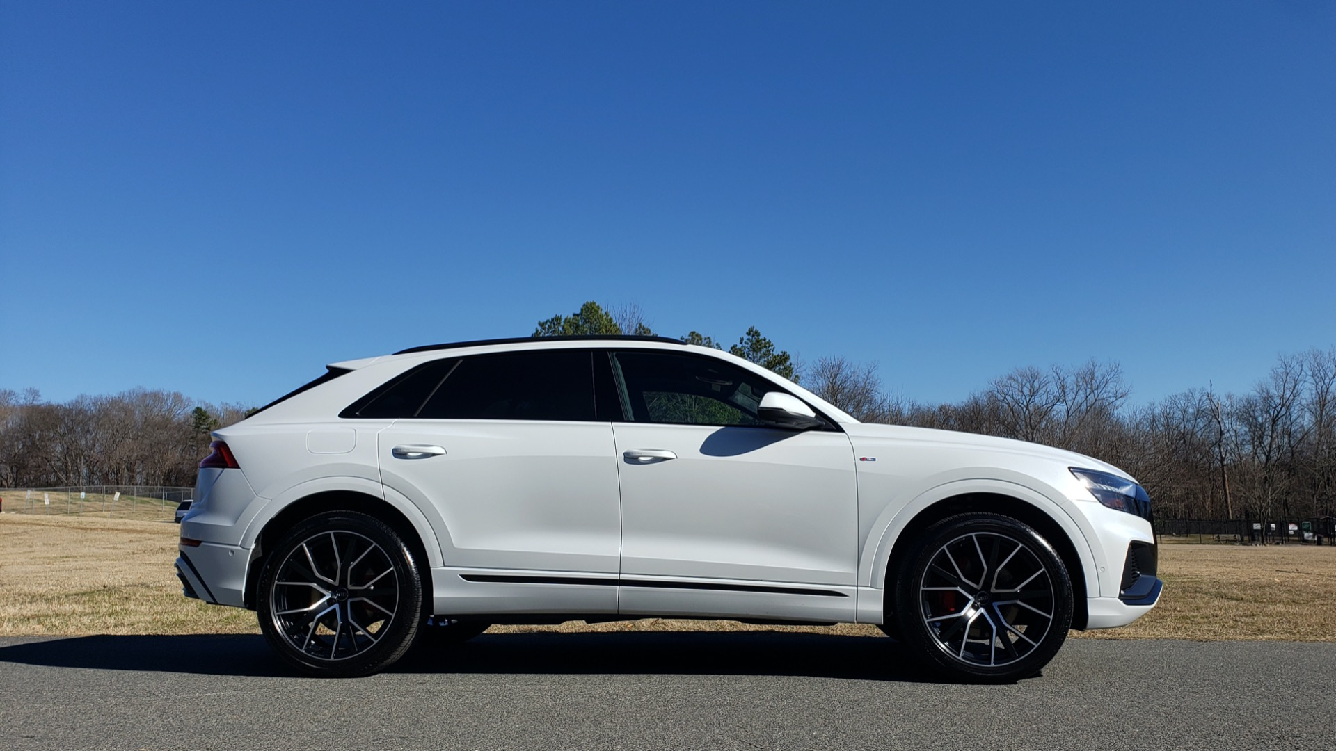 Used 2019 Audi Q8 PRESTIGE S-LINE / LUX PKG / ADAPT CHASSIS / YEAR ONE / CLD WTHR for sale Sold at Formula Imports in Charlotte NC 28227 12