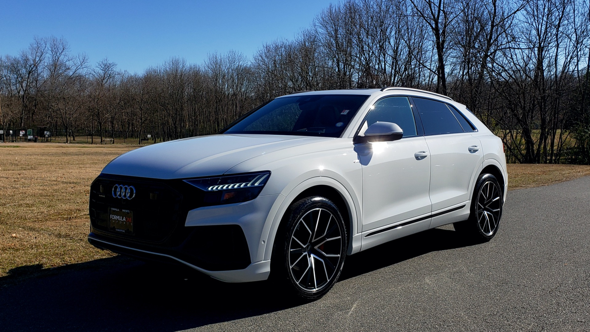 Used 2019 Audi Q8 PRESTIGE S-LINE / LUX PKG / ADAPT CHASSIS / YEAR ONE / CLD WTHR for sale Sold at Formula Imports in Charlotte NC 28227 3
