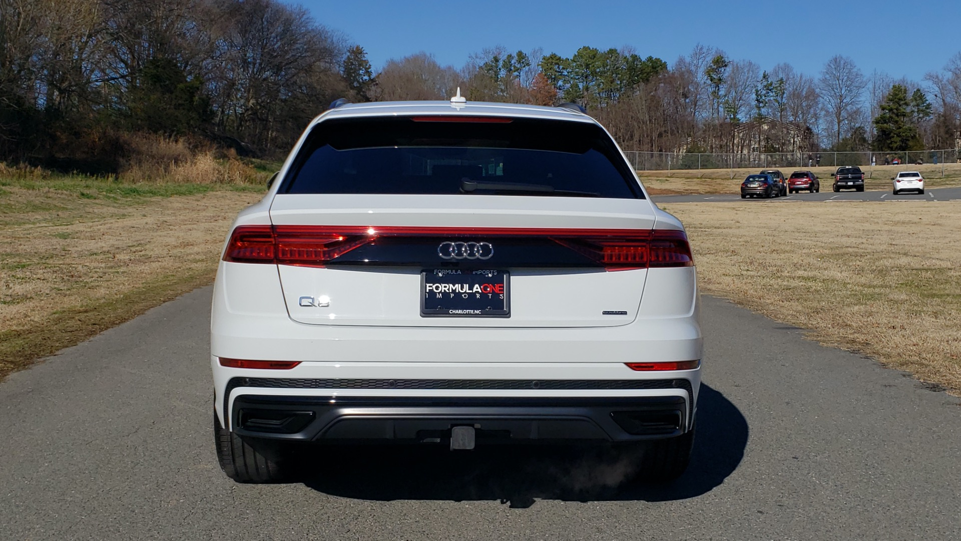 Used 2019 Audi Q8 PRESTIGE S-LINE / LUX PKG / ADAPT CHASSIS / YEAR ONE / CLD WTHR for sale Sold at Formula Imports in Charlotte NC 28227 32