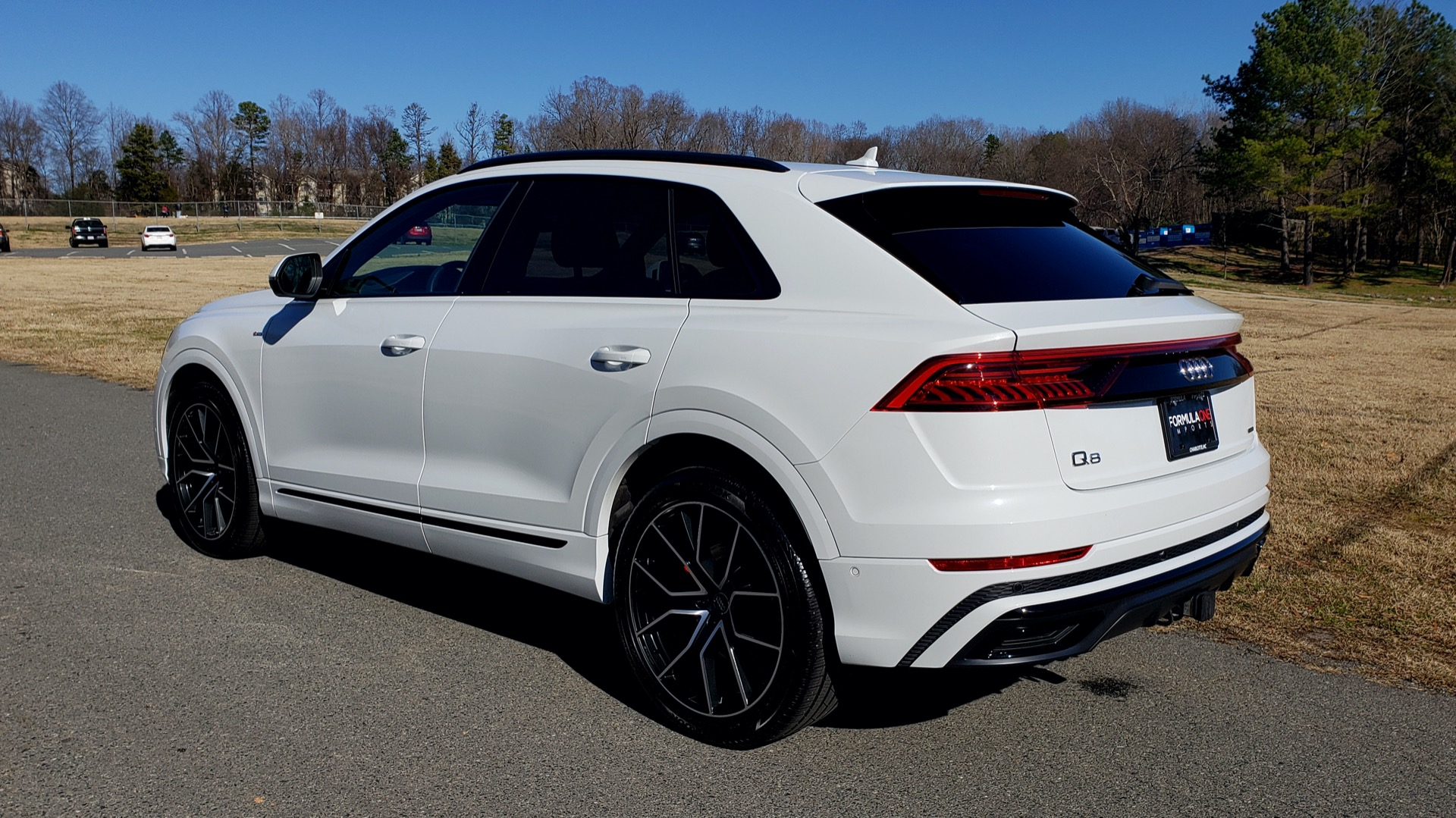 Used 2019 Audi Q8 PRESTIGE S-LINE / LUX PKG / ADAPT CHASSIS / YEAR ONE / CLD WTHR for sale Sold at Formula Imports in Charlotte NC 28227 5
