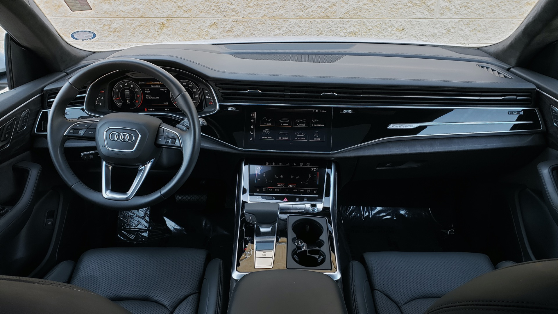 Used 2019 Audi Q8 PRESTIGE S-LINE / LUX PKG / ADAPT CHASSIS / YEAR ONE / CLD WTHR for sale Sold at Formula Imports in Charlotte NC 28227 97