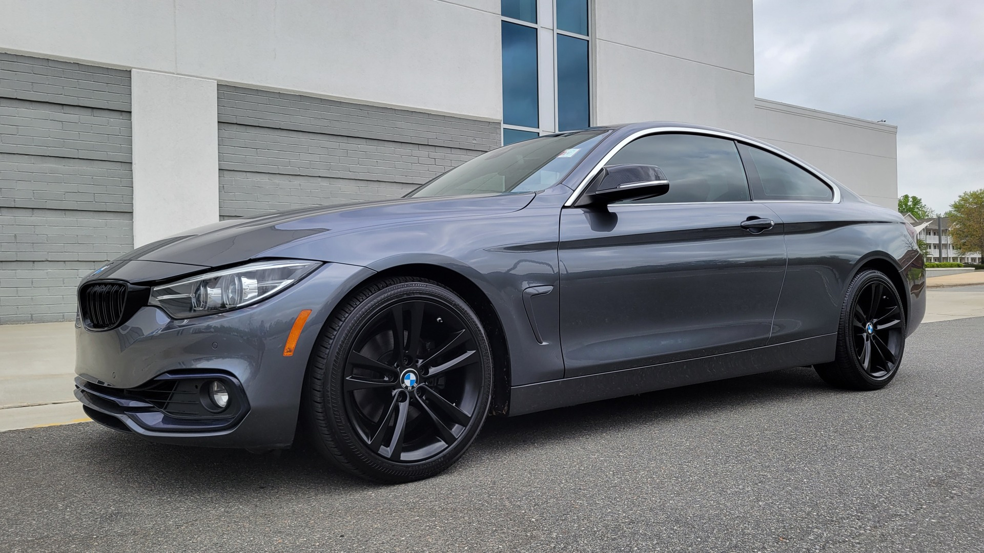 Used 2019 BMW 4 SERIES 430I COUPE 2.0L / RWD / DRVR ASST / CONV PKG / SUNROOF / REARVIEW for sale $32,295 at Formula Imports in Charlotte NC 28227 2