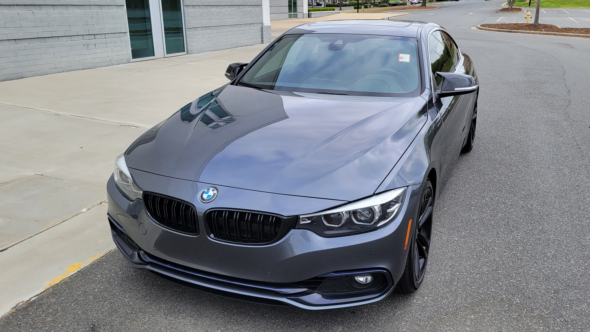 Used 2019 BMW 4 SERIES 430I COUPE 2.0L / RWD / DRVR ASST / CONV PKG / SUNROOF / REARVIEW for sale $32,295 at Formula Imports in Charlotte NC 28227 1