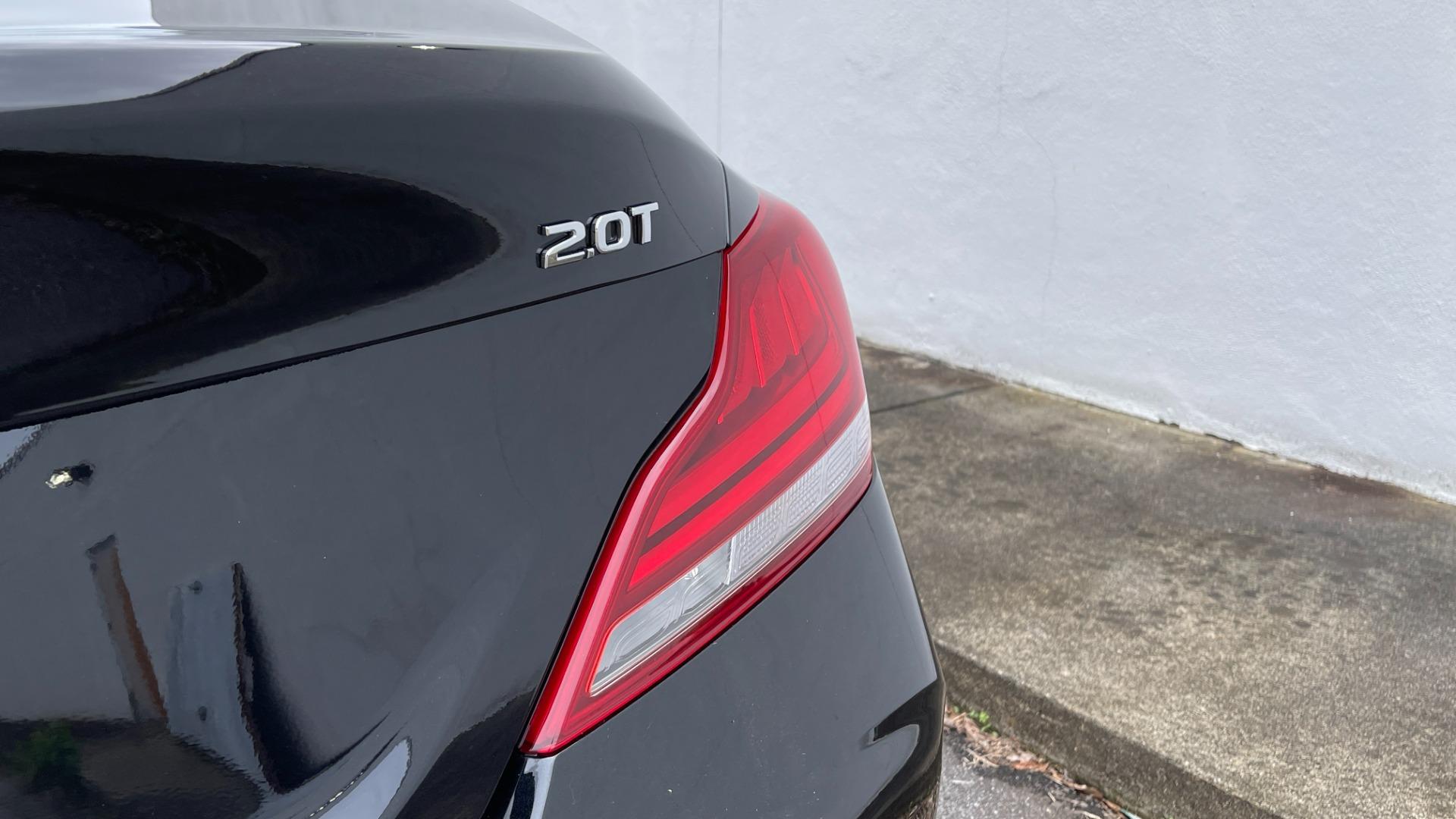 Used 2021 Genesis G70 ELITE 2.0T SEDAN / NAV / LANE ASST / BSA / SUNROOF / LEATHER / REARVIEW for sale $39,995 at Formula Imports in Charlotte NC 28227 14