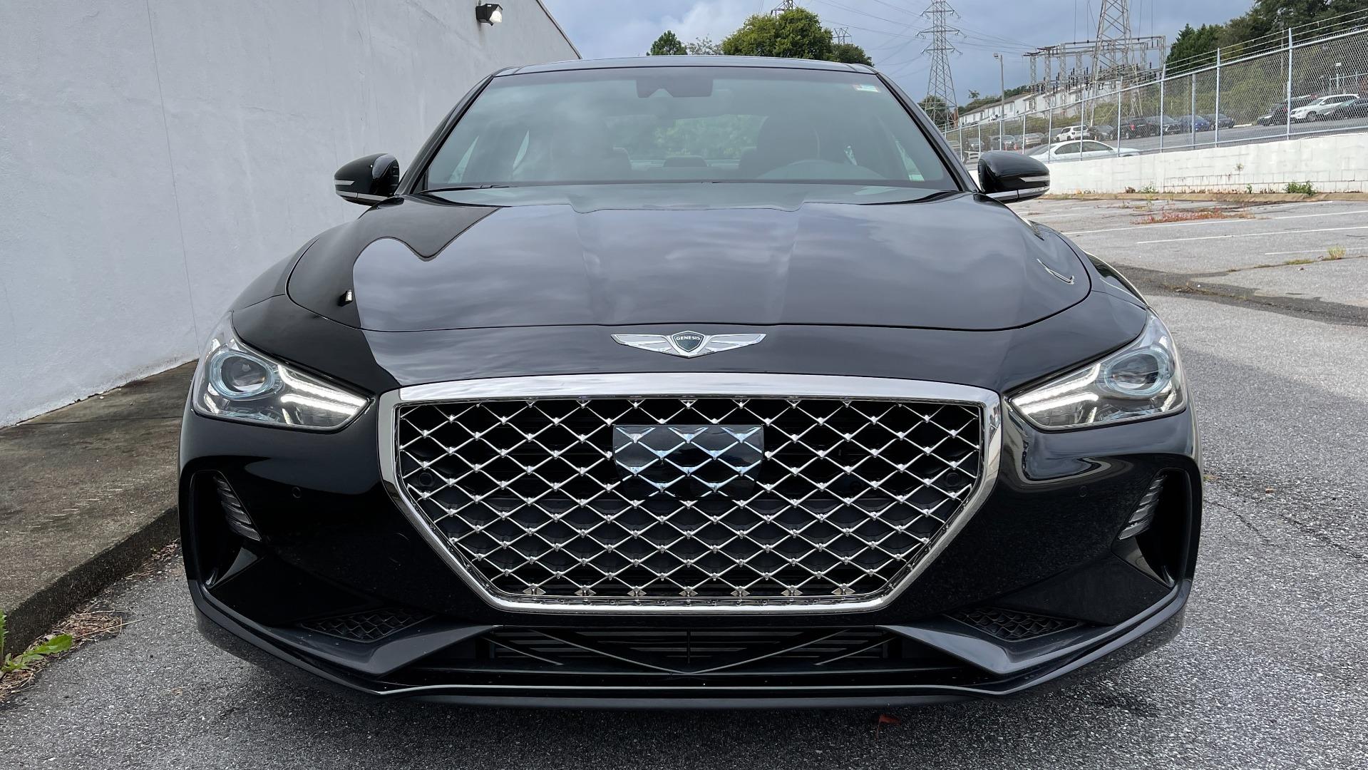 Used 2021 Genesis G70 ELITE 2.0T SEDAN / NAV / LANE ASST / BSA / SUNROOF / LEATHER / REARVIEW for sale $39,995 at Formula Imports in Charlotte NC 28227 7