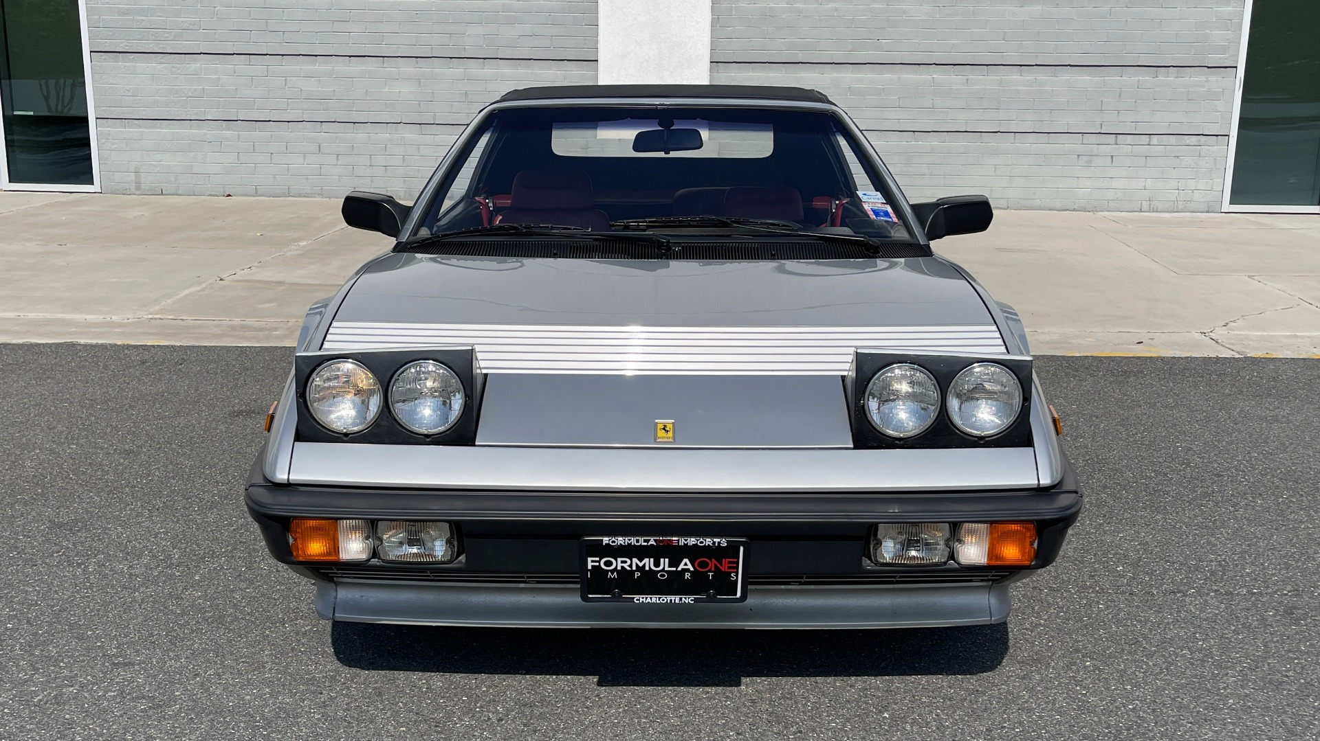 Used 1984 Ferrari MONDIAL 2+2 CABRIOLET / MID-ENGINE 3.0L V8 240HP / 5-SPEED MANUAL / LOW MILES for sale Call for price at Formula Imports in Charlotte NC 28227 14