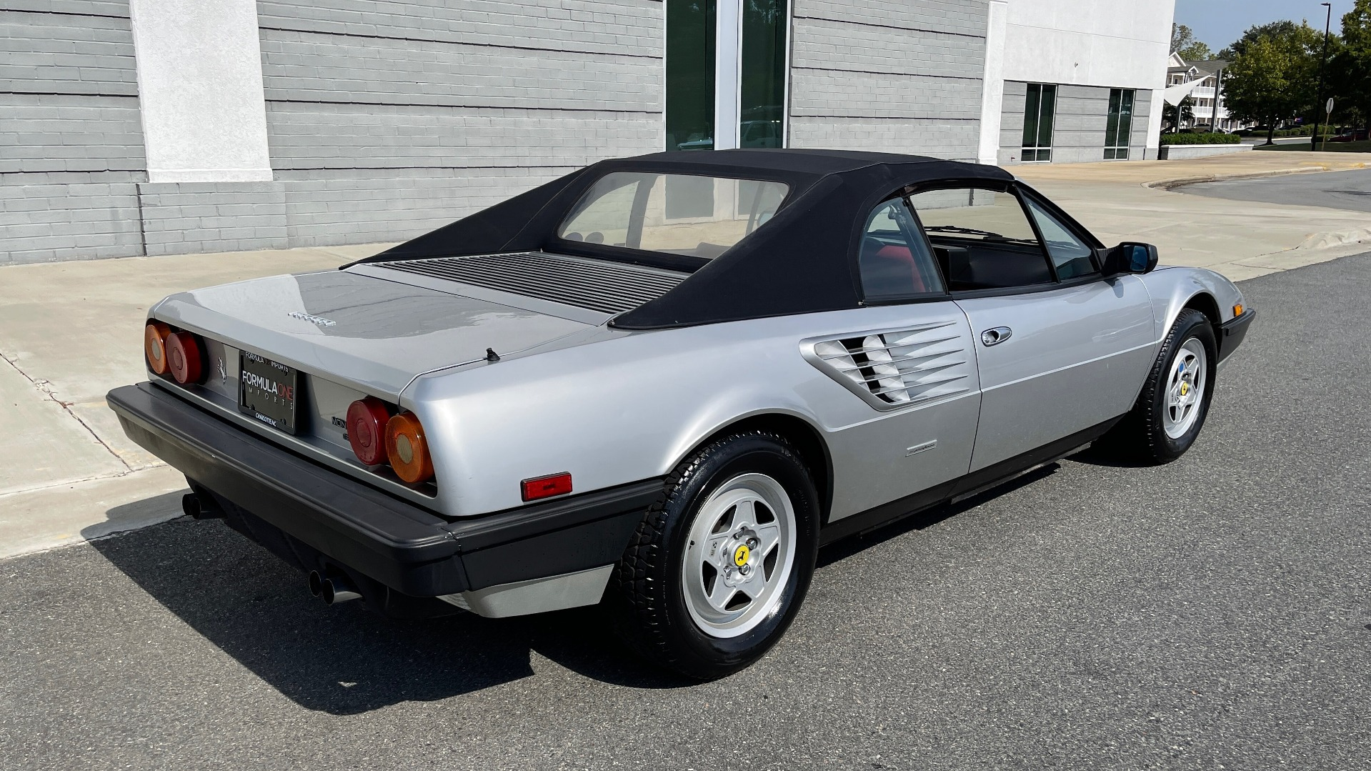 Used 1984 Ferrari MONDIAL 2+2 CABRIOLET / MID-ENGINE 3.0L V8 240HP / 5-SPEED MANUAL / LOW MILES for sale Call for price at Formula Imports in Charlotte NC 28227 2