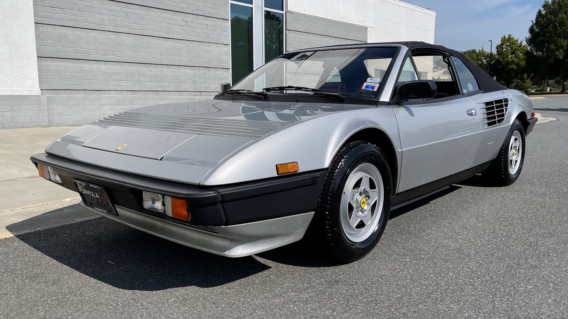 Used 1984 Ferrari MONDIAL 2+2 CABRIOLET / MID-ENGINE 3.0L V8 240HP / 5-SPEED MANUAL / LOW MILES for sale Call for price at Formula Imports in Charlotte NC 28227 3