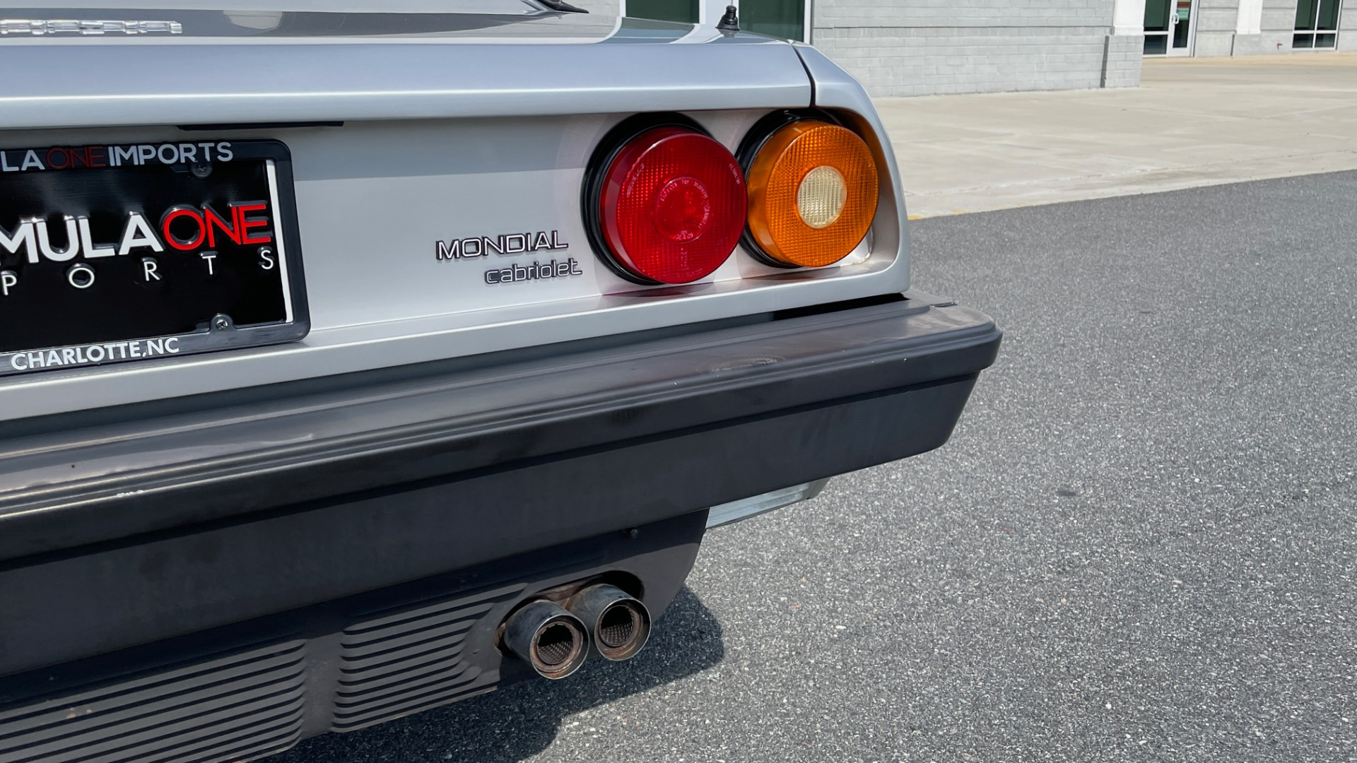 Used 1984 Ferrari MONDIAL 2+2 CABRIOLET / MID-ENGINE 3.0L V8 240HP / 5-SPEED MANUAL / LOW MILES for sale Call for price at Formula Imports in Charlotte NC 28227 32