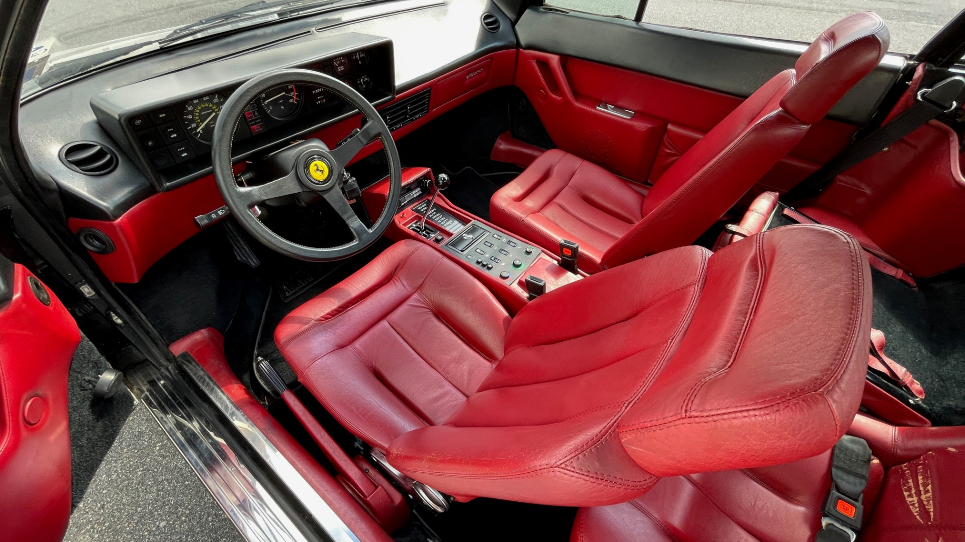 Used 1984 Ferrari MONDIAL 2+2 CABRIOLET / MID-ENGINE 3.0L V8 240HP / 5-SPEED MANUAL / LOW MILES for sale Call for price at Formula Imports in Charlotte NC 28227 49