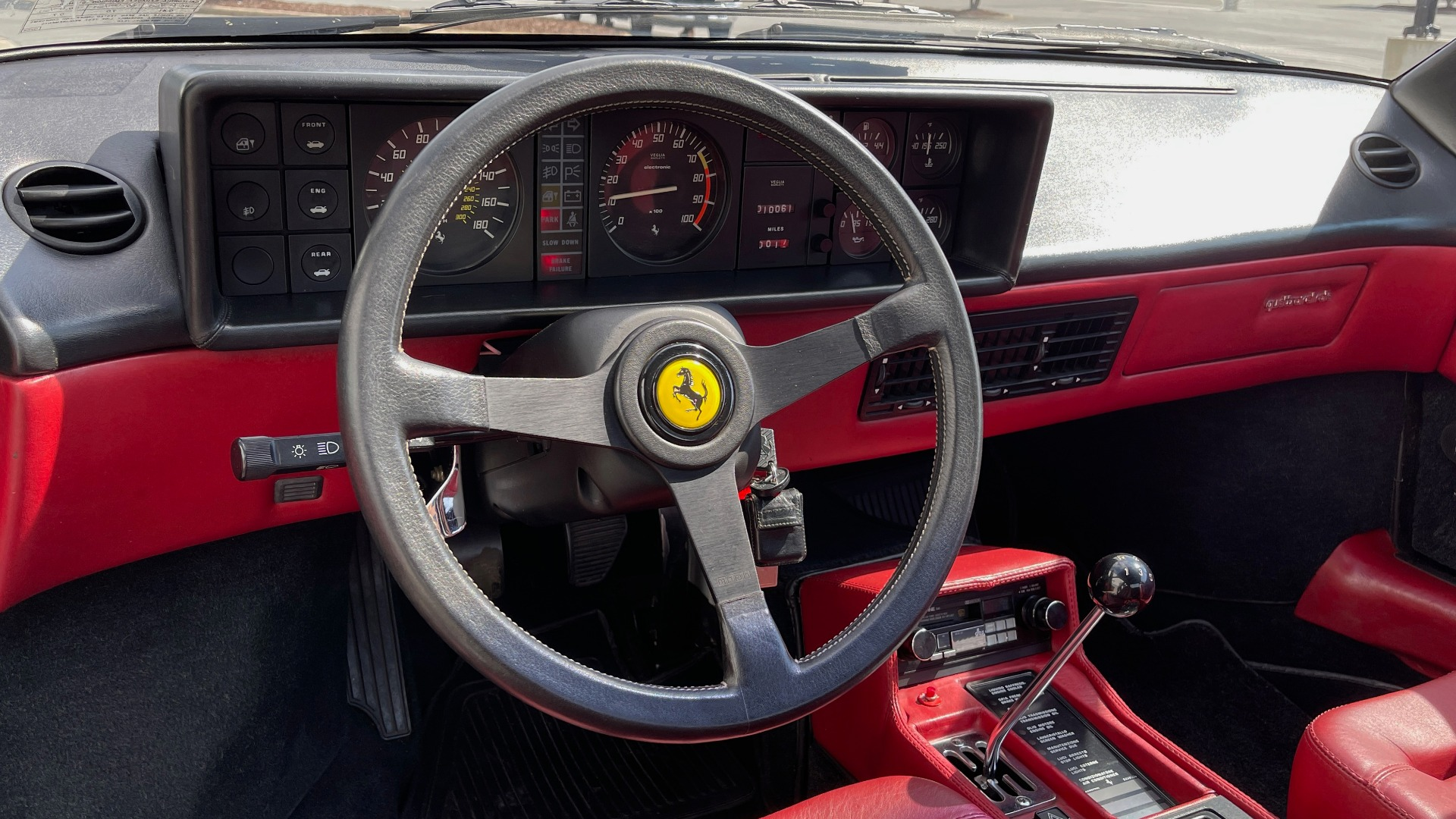 Used 1984 Ferrari MONDIAL 2+2 CABRIOLET / MID-ENGINE 3.0L V8 240HP / 5-SPEED MANUAL / LOW MILES for sale Call for price at Formula Imports in Charlotte NC 28227 68
