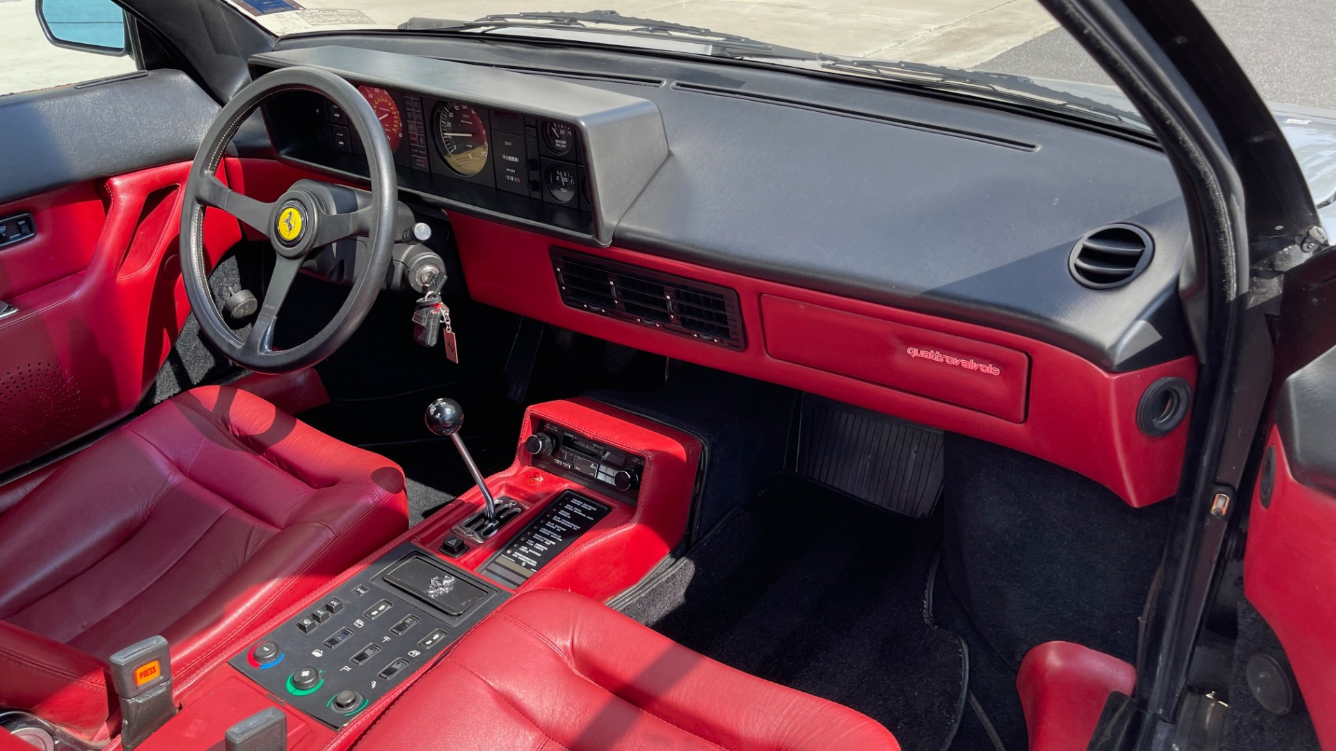 Used 1984 Ferrari MONDIAL 2+2 CABRIOLET / MID-ENGINE 3.0L V8 240HP / 5-SPEED MANUAL / LOW MILES for sale Call for price at Formula Imports in Charlotte NC 28227 75