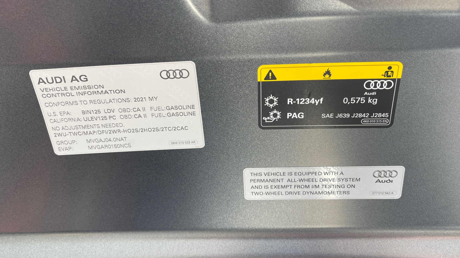 Used 2021 Audi RS 6 AVANT WAGON / EXEC PKG / CARBON OPTIC / B&O SND / DRVR ASST / SPRT EXH for sale Sold at Formula Imports in Charlotte NC 28227 11