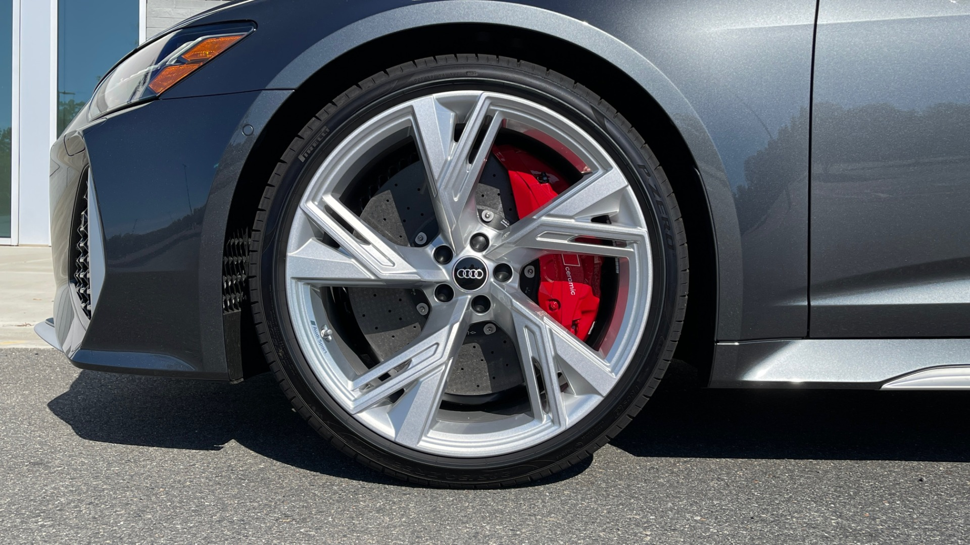 Used 2021 Audi RS 6 AVANT WAGON / EXEC PKG / CARBON OPTIC / B&O SND / DRVR ASST / SPRT EXH for sale Sold at Formula Imports in Charlotte NC 28227 66
