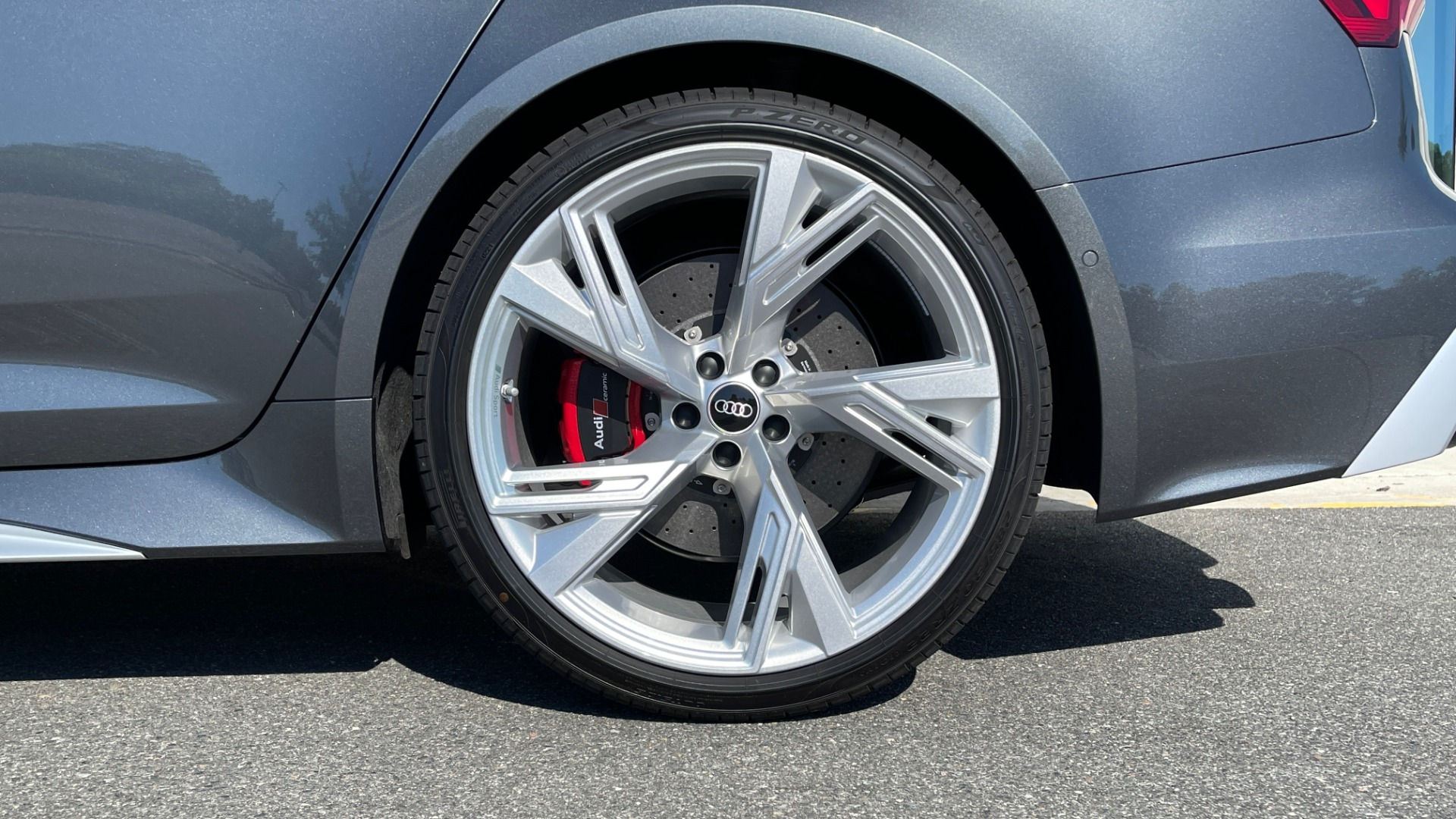 Used 2021 Audi RS 6 AVANT WAGON / EXEC PKG / CARBON OPTIC / B&O SND / DRVR ASST / SPRT EXH for sale Sold at Formula Imports in Charlotte NC 28227 67